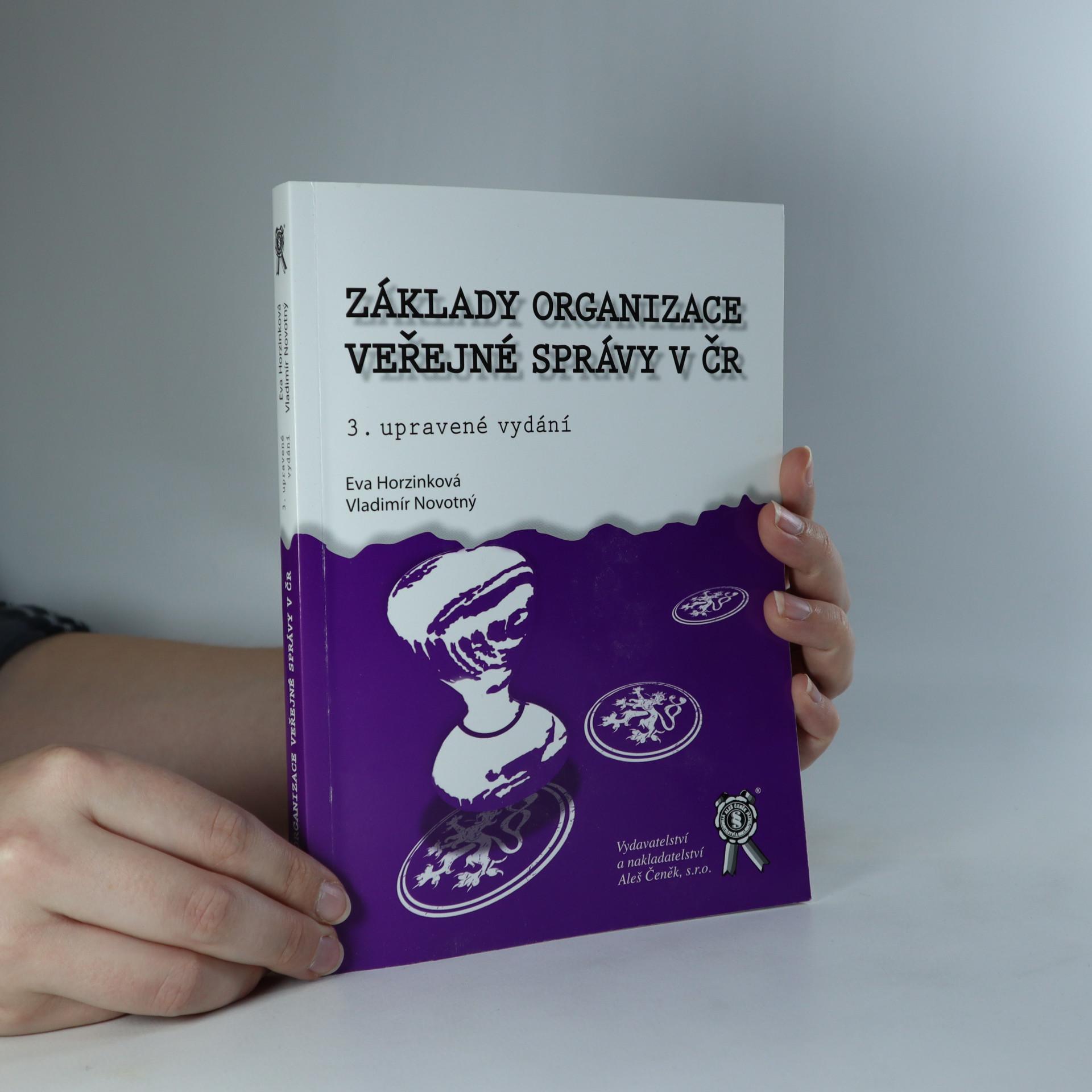 antikvární kniha Základy organizace veřejné správy v ČR, 2013