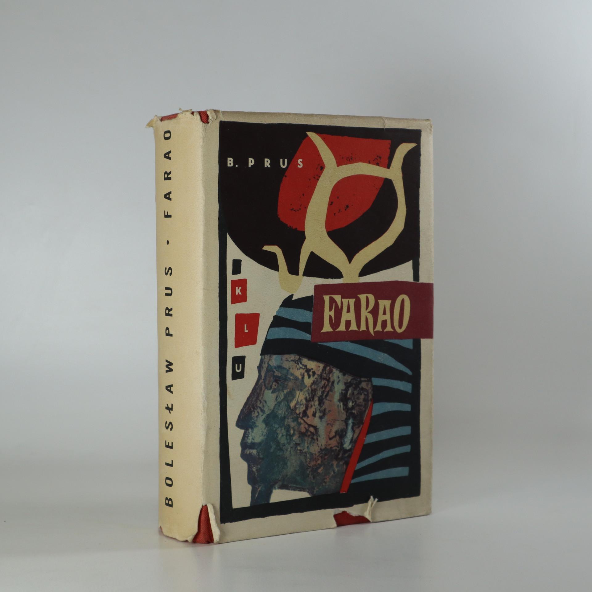 antikvární kniha Farao, 1962