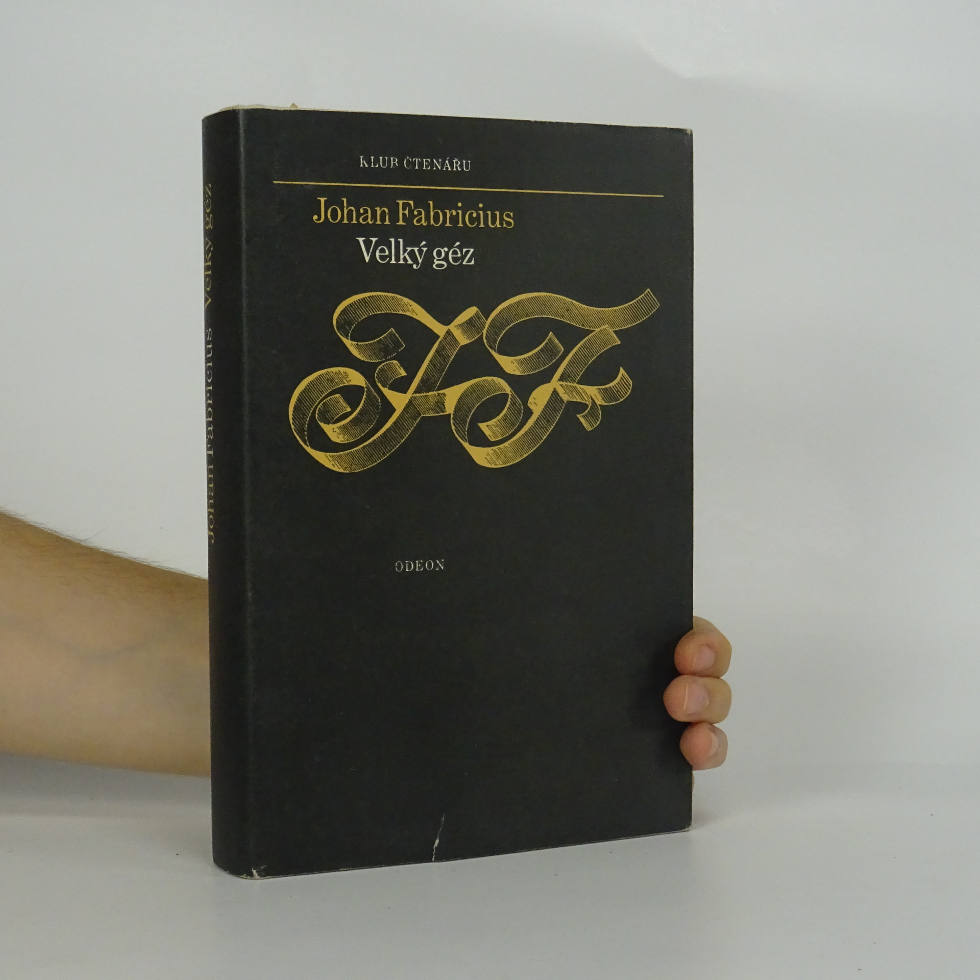 antikvární kniha Velký géz, 1978