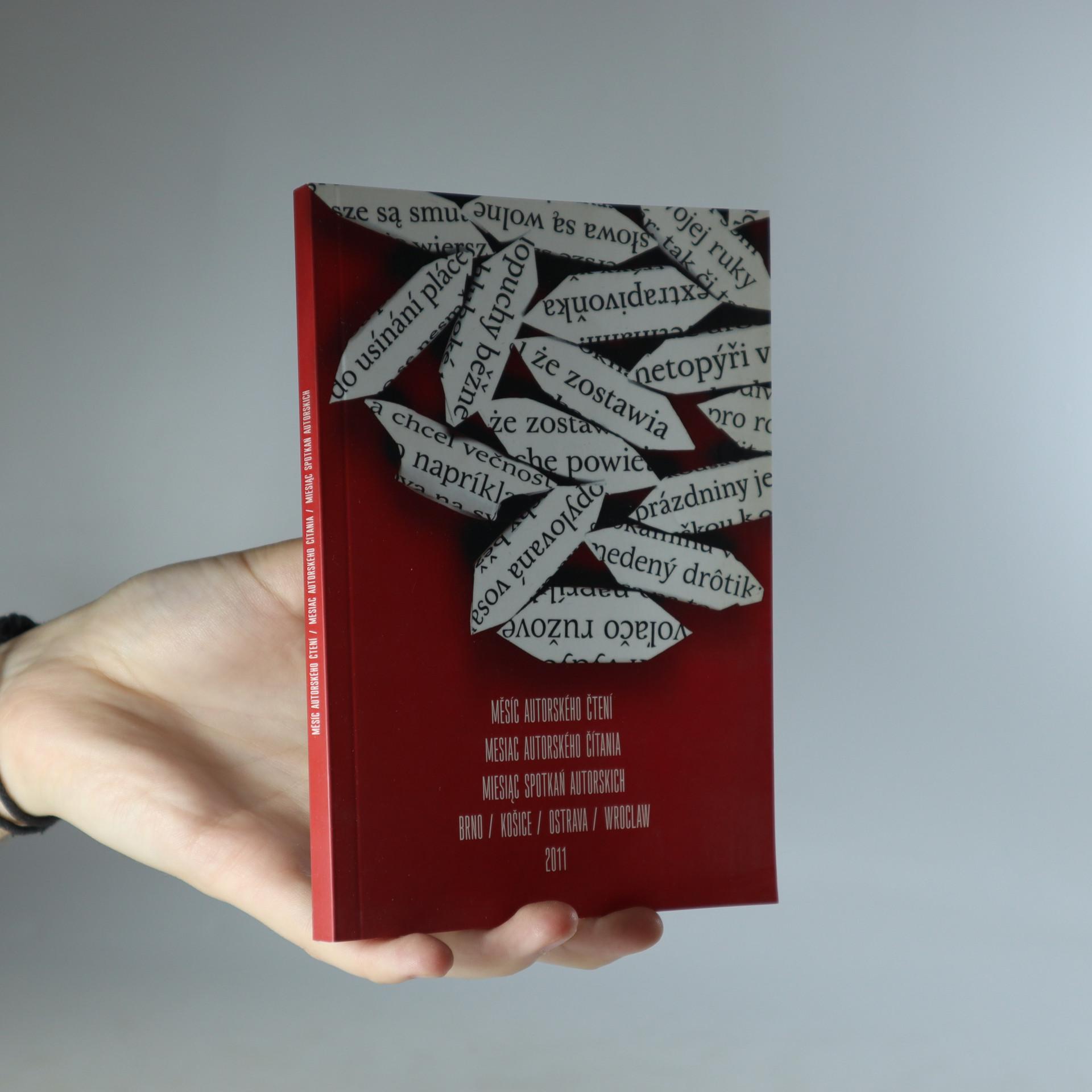 antikvární kniha Měsíc autorského čtení 2011, 2011