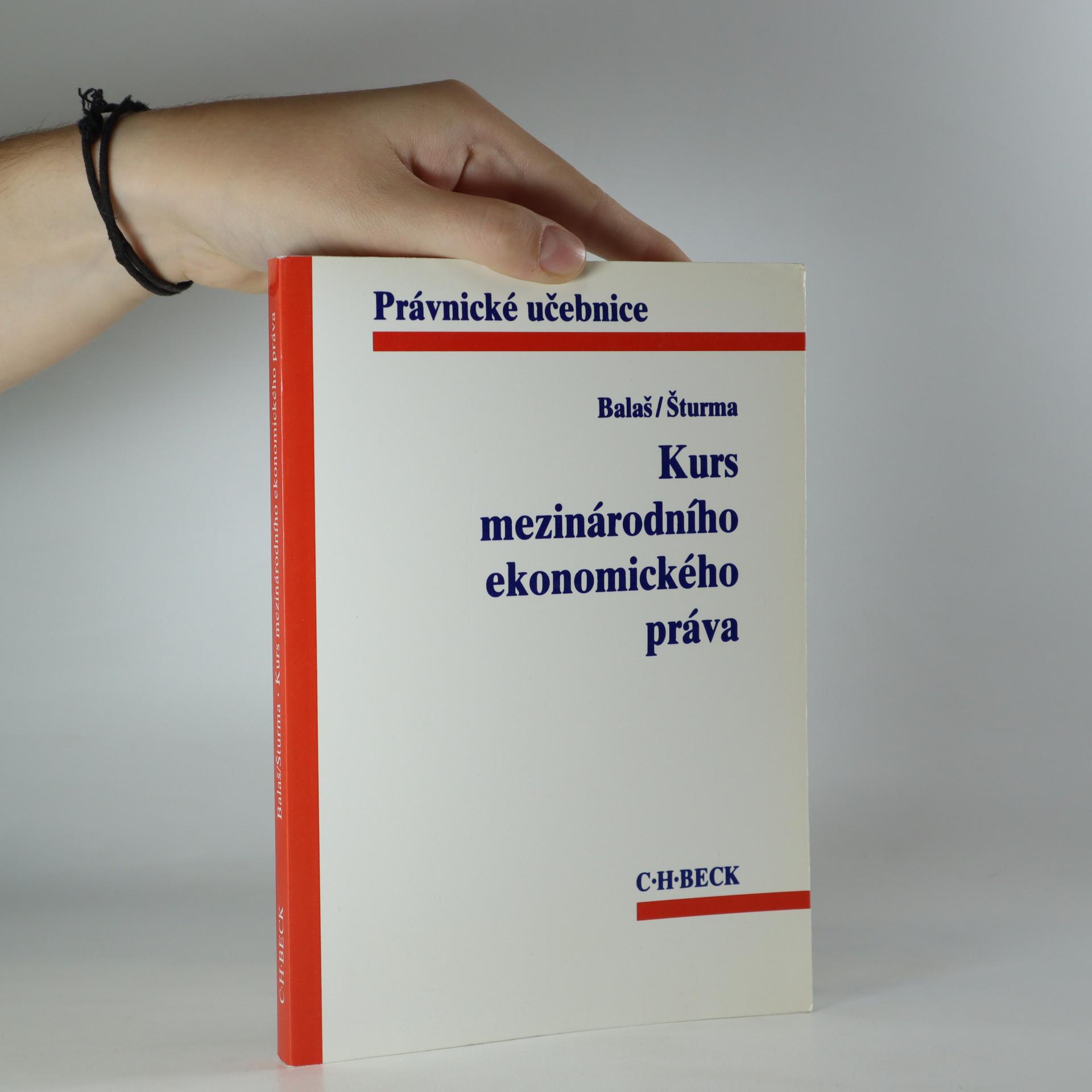 antikvární kniha Kurs mezinárodního ekonomického práva, 1997