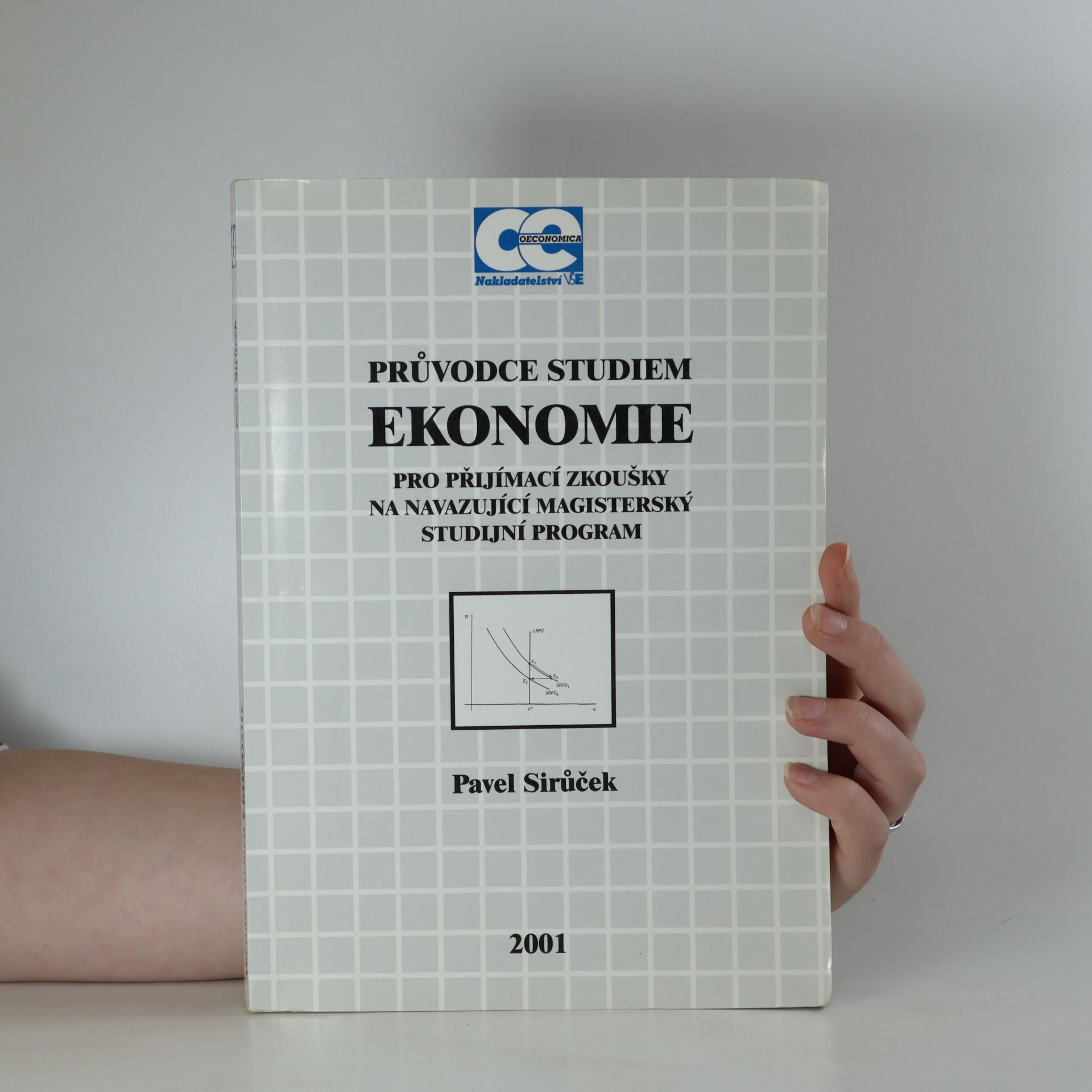 antikvární kniha Průvodce studiem ekonomie pro přijímací zkoušky na navazující magisterský studijní program, 2001