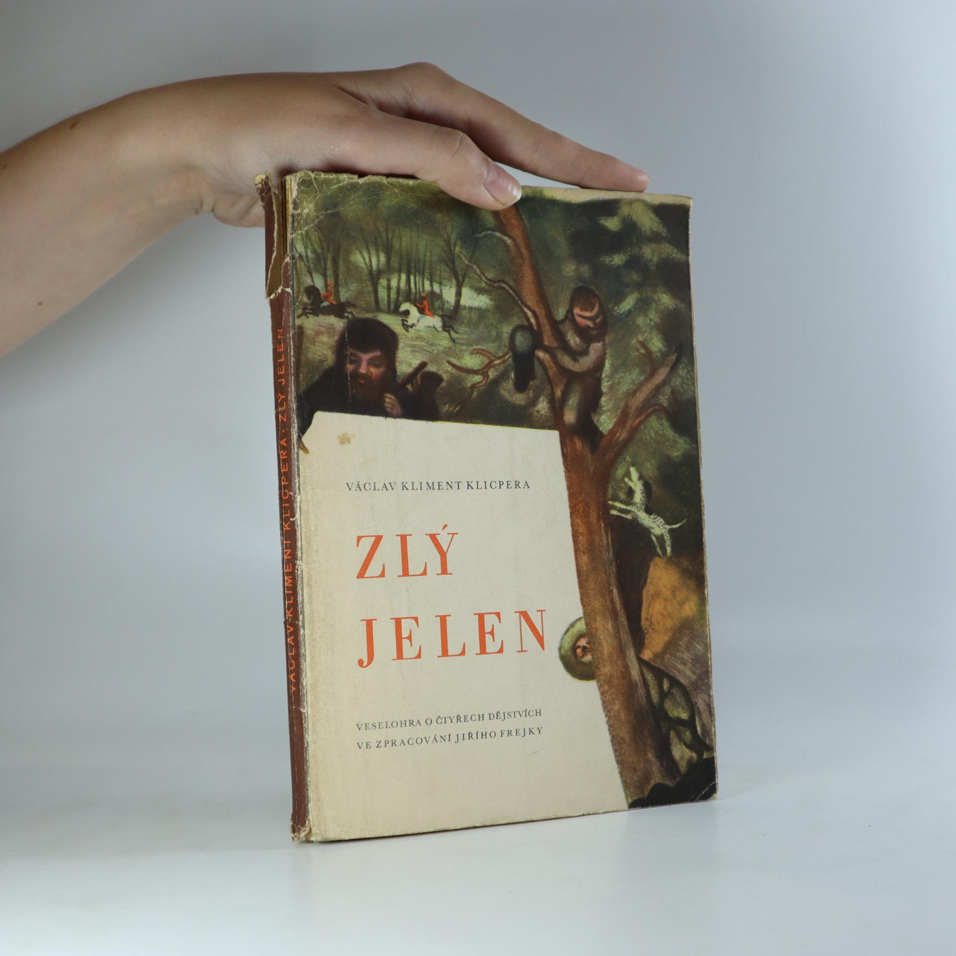 antikvární kniha Zlý jelen, 1943