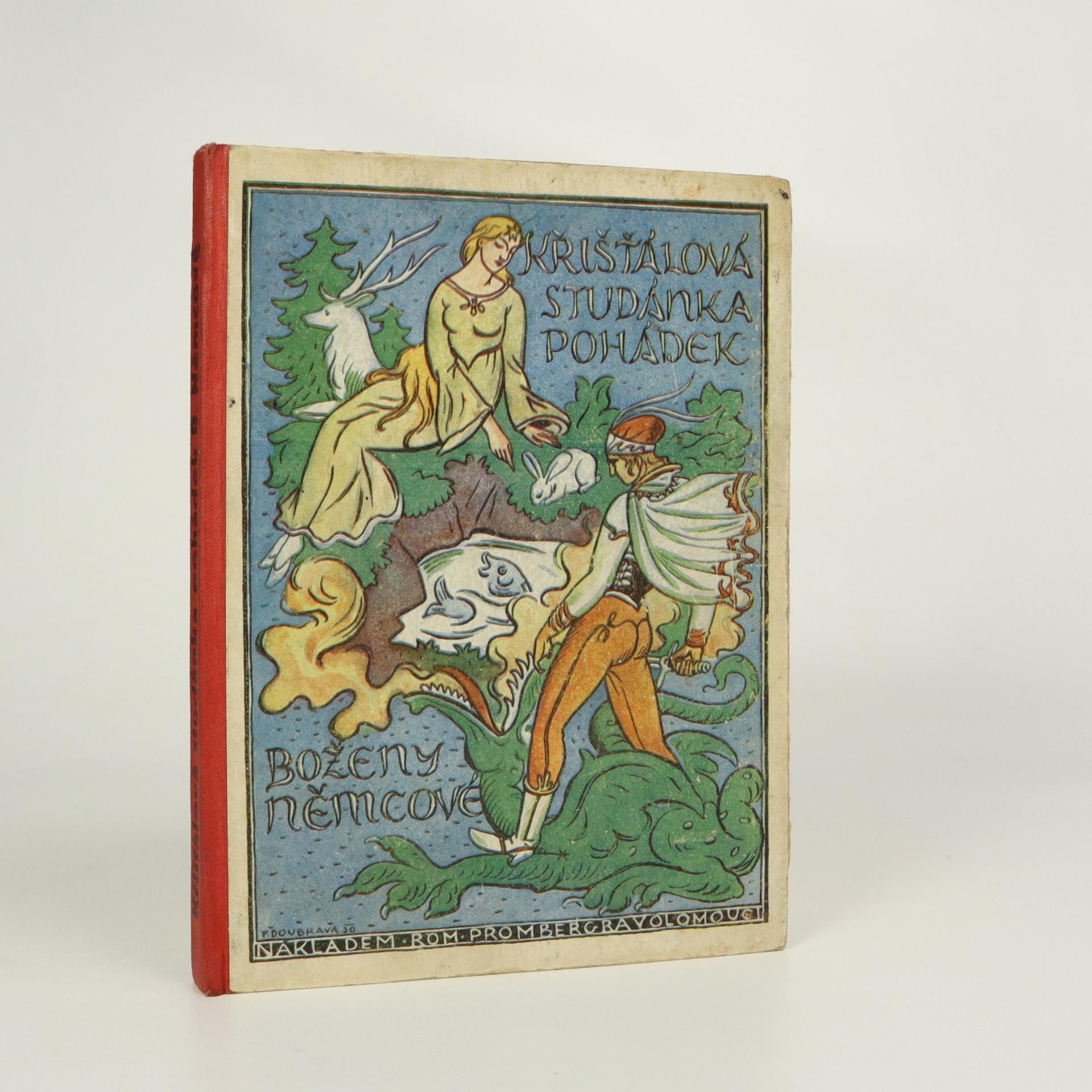 antikvární kniha Křišťálová studánka pohádek Boženy Němcové, 1931