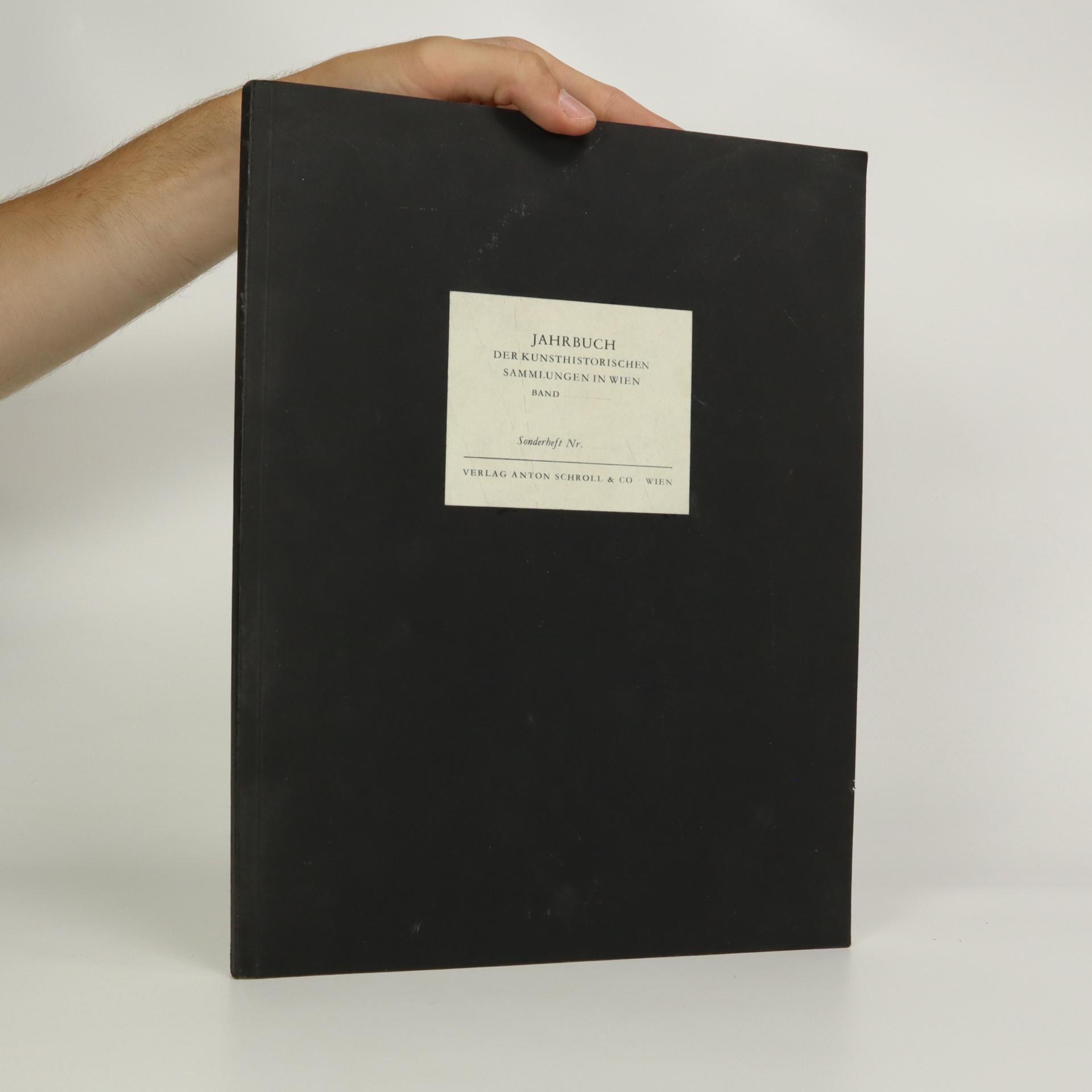 antikvární kniha Jahrbuch der Kunsthistorischen Sammlungen in Wien, neuveden