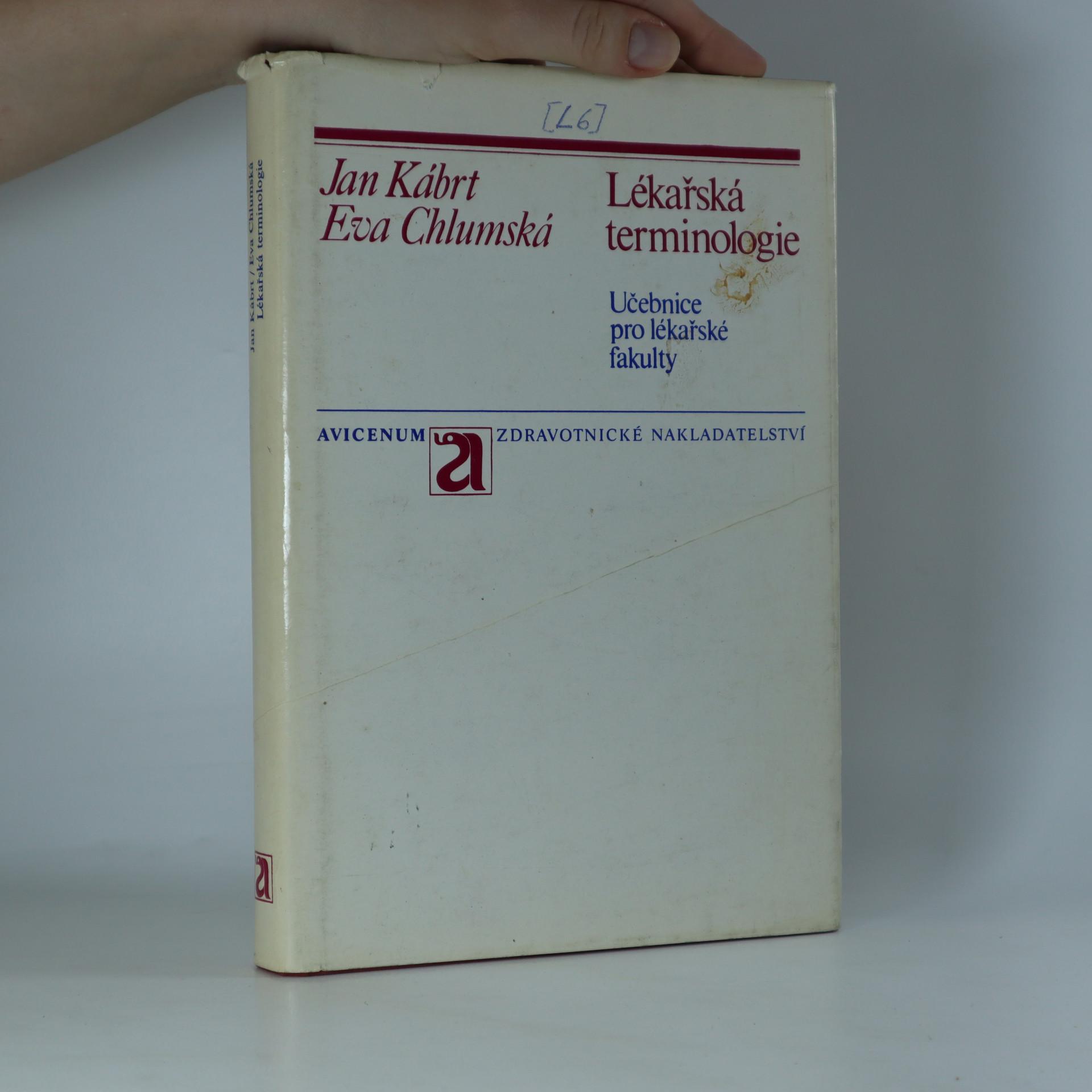 antikvární kniha Lékařská terminologie, 1988