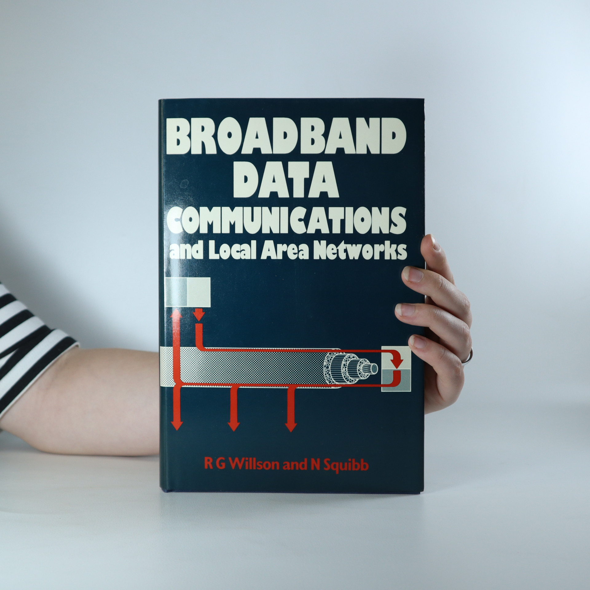 antikvární kniha Broadband Data Communications and Local Area Networks, 1986