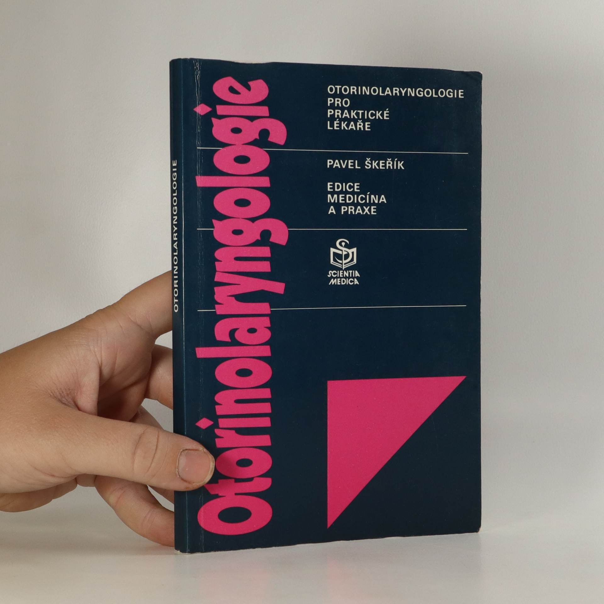 antikvární kniha Otorinolaryngologie pro praktické lékaře, 1993