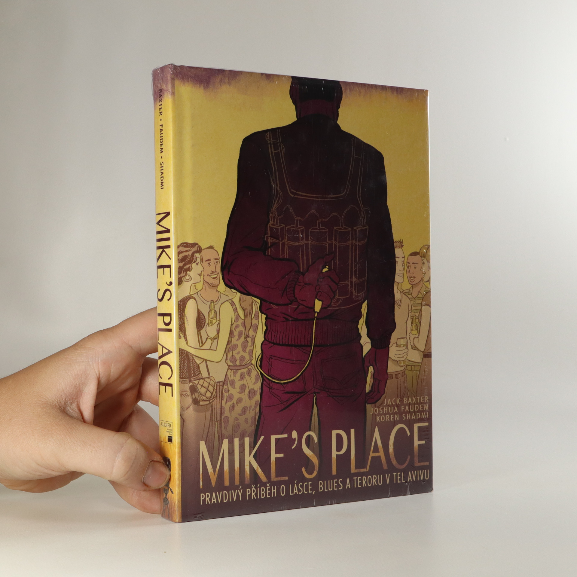 antikvární kniha Mike's place. Pravdivý příběh o lásce, blues a teroru v Tel Avivu, 2015