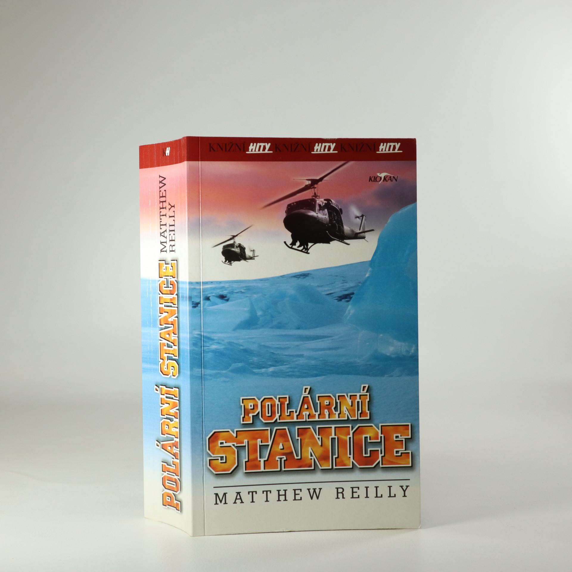 antikvární kniha Polární stanice, 2001
