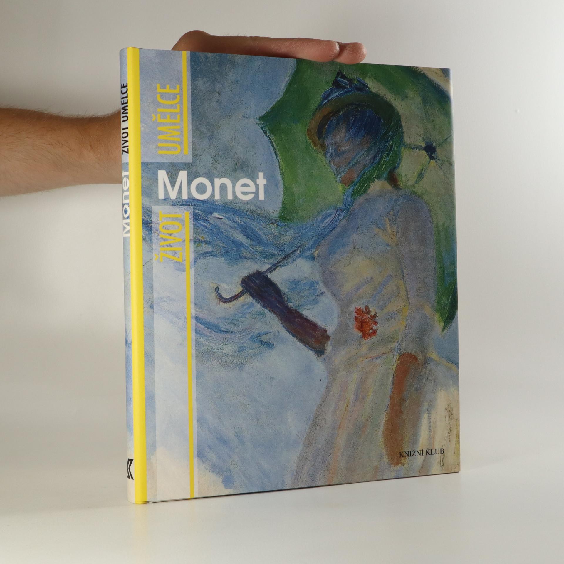 antikvární kniha Monet, 2010