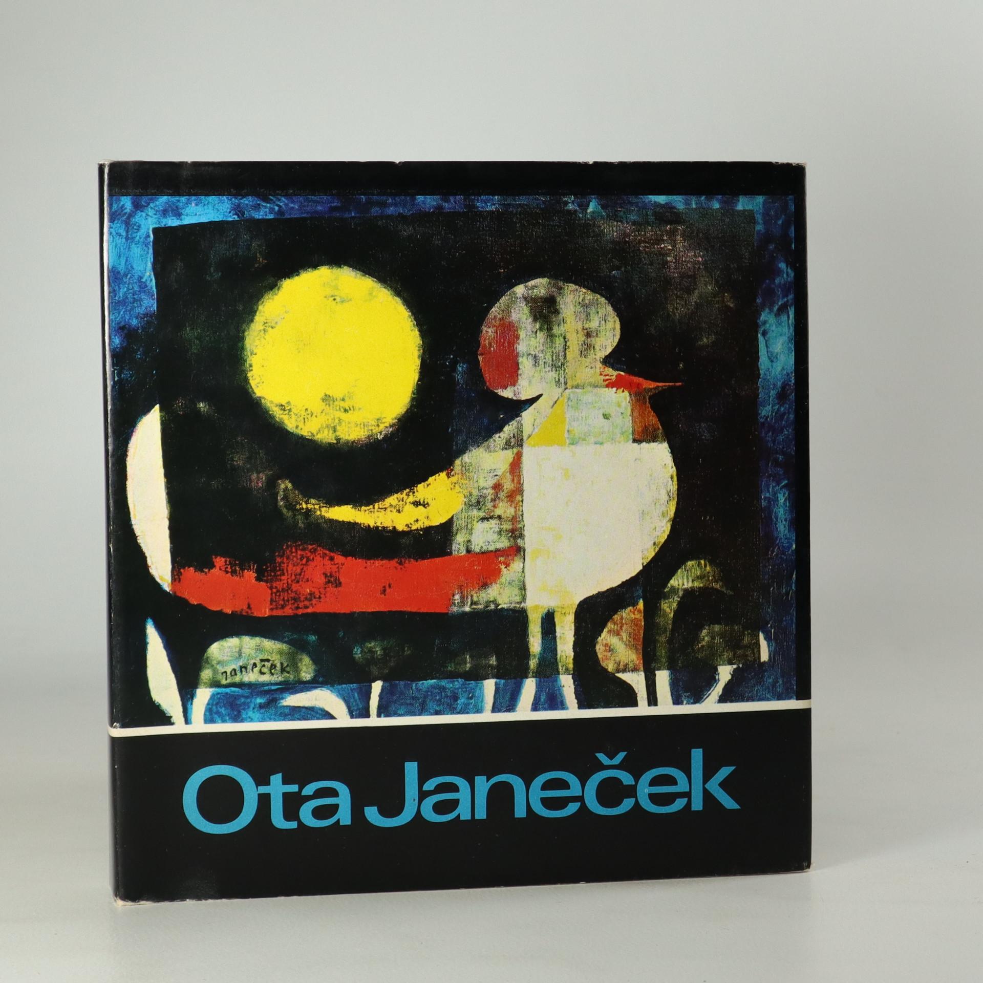 antikvární kniha Ota Janeček, 1973