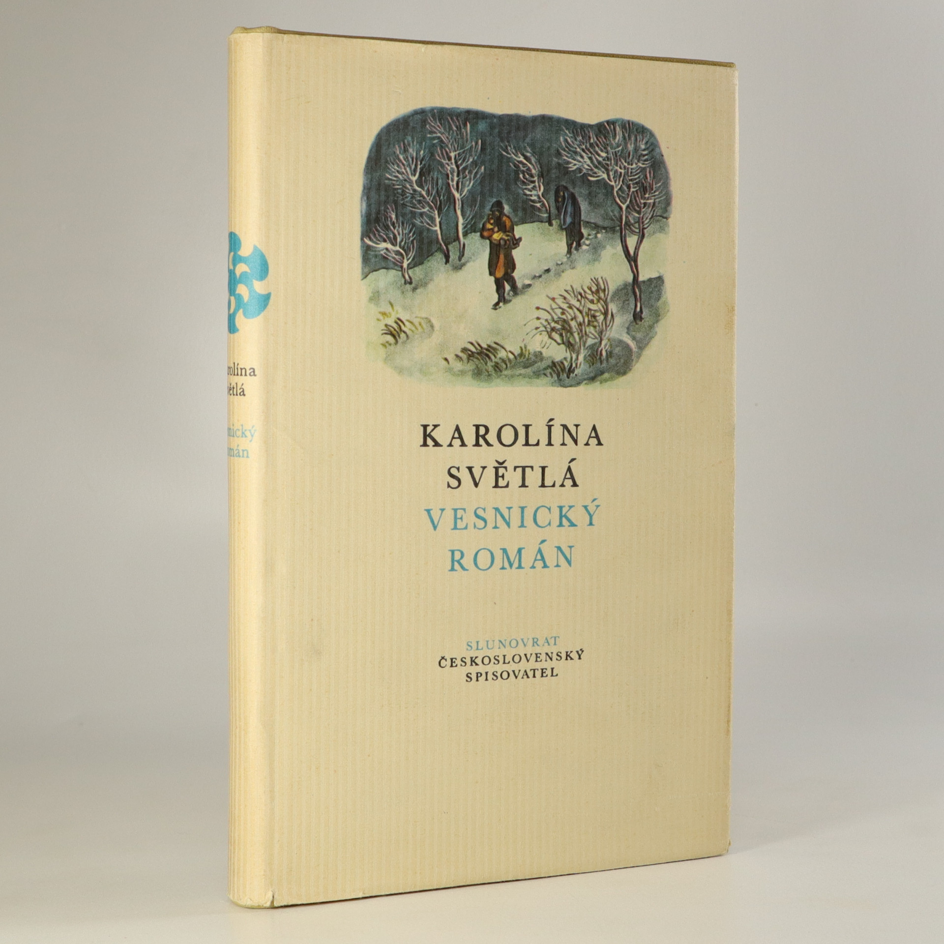 antikvární kniha Vesnický román, 1973