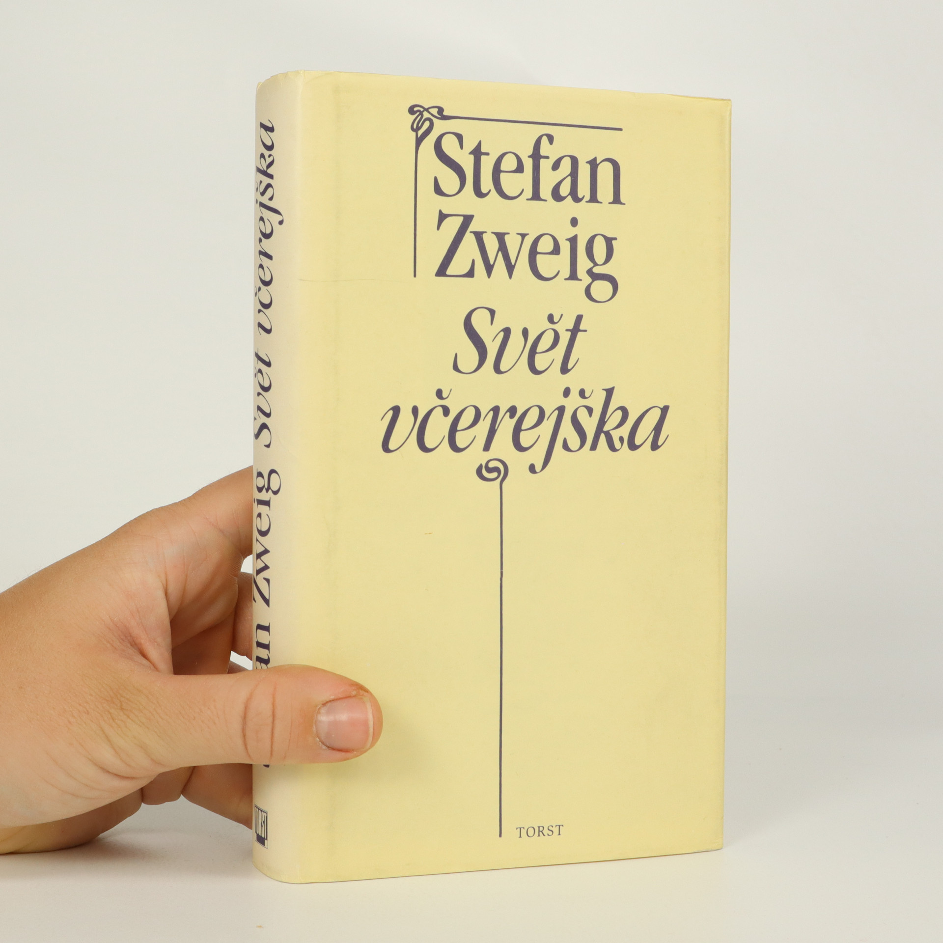 antikvární kniha Svět včerejška, 1994