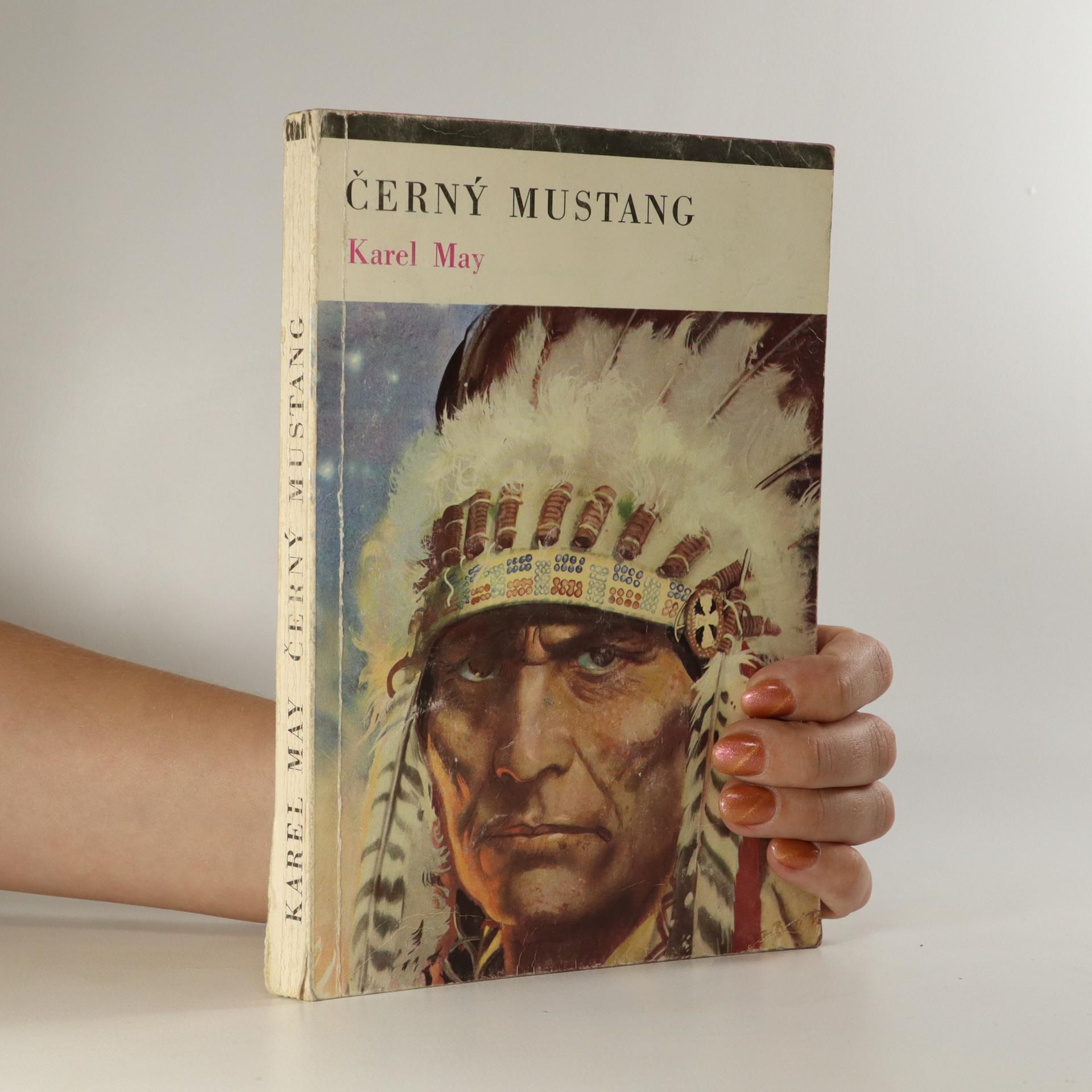 antikvární kniha Černý mustang, 1970
