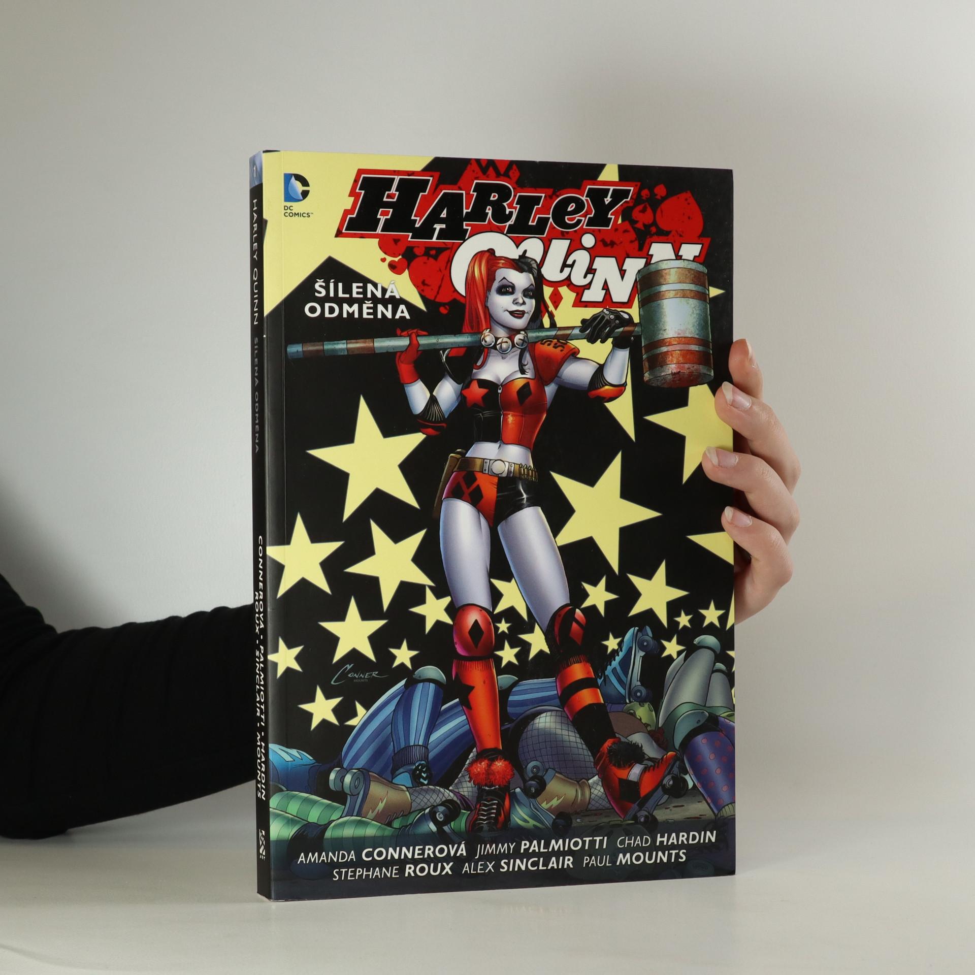 antikvární kniha Harley Quinn. Šílená odměna, 2015