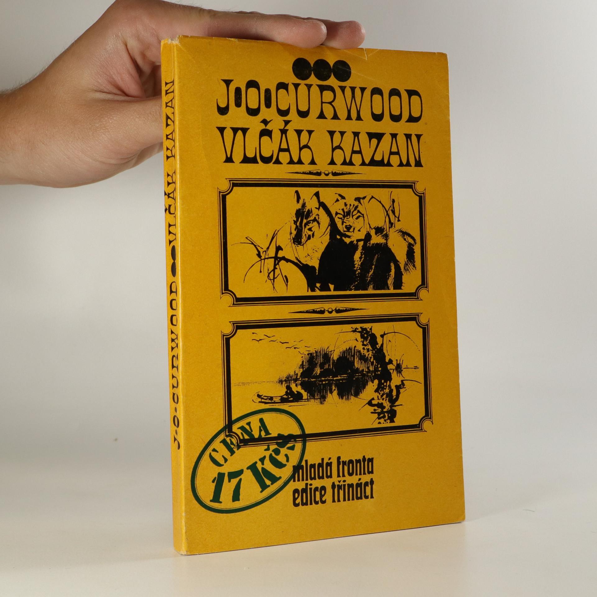 antikvární kniha Vlčák Kazan, 1973