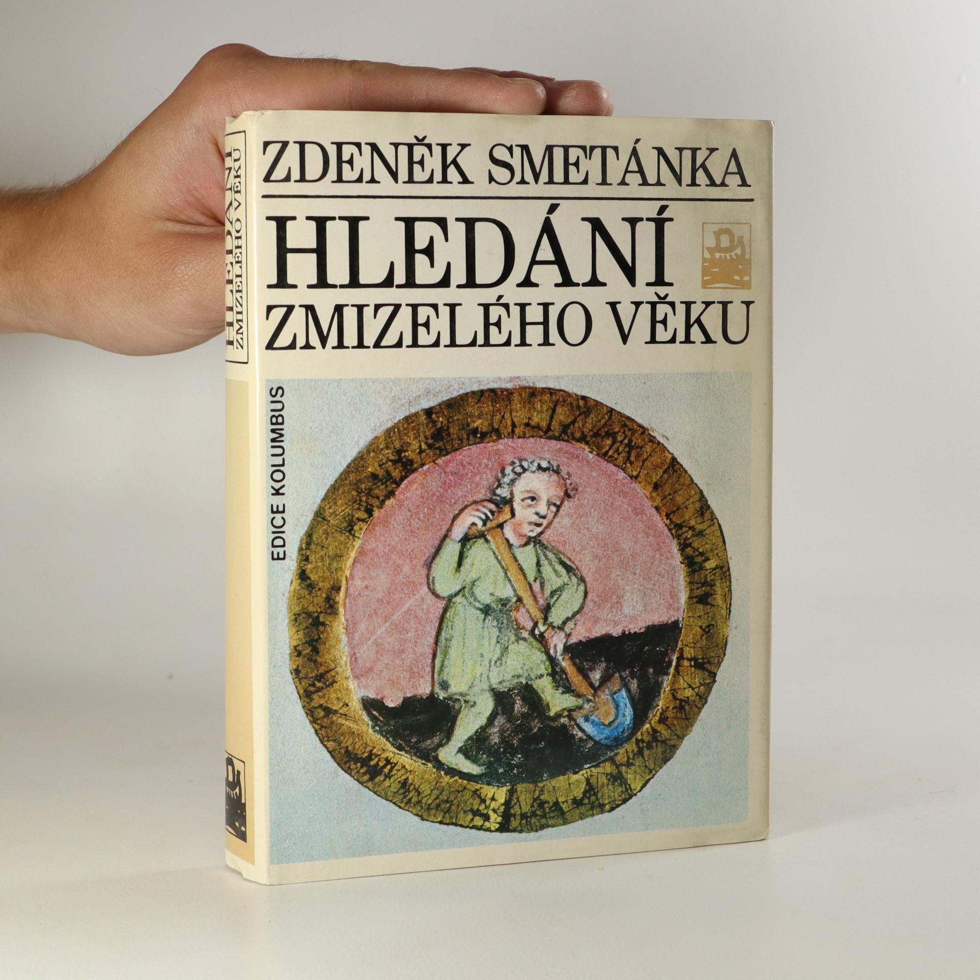 antikvární kniha Hledání zmizelého věku, neuveden