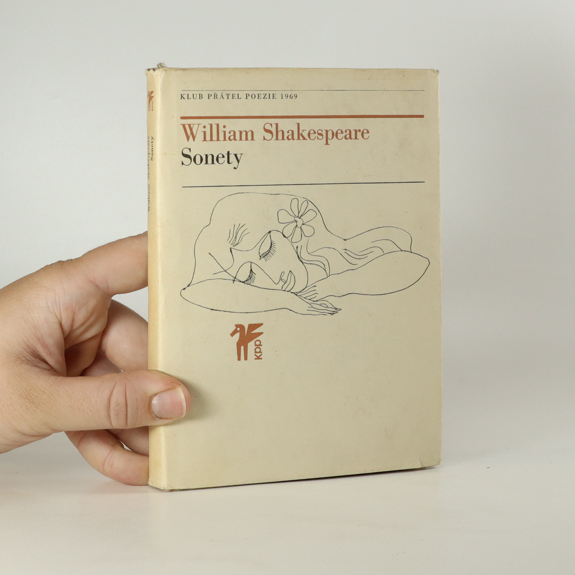 antikvární kniha Sonety, 1969