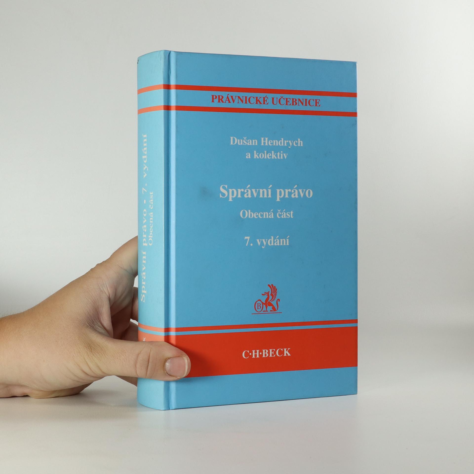 antikvární kniha Správní právo. Obecná část, 2009