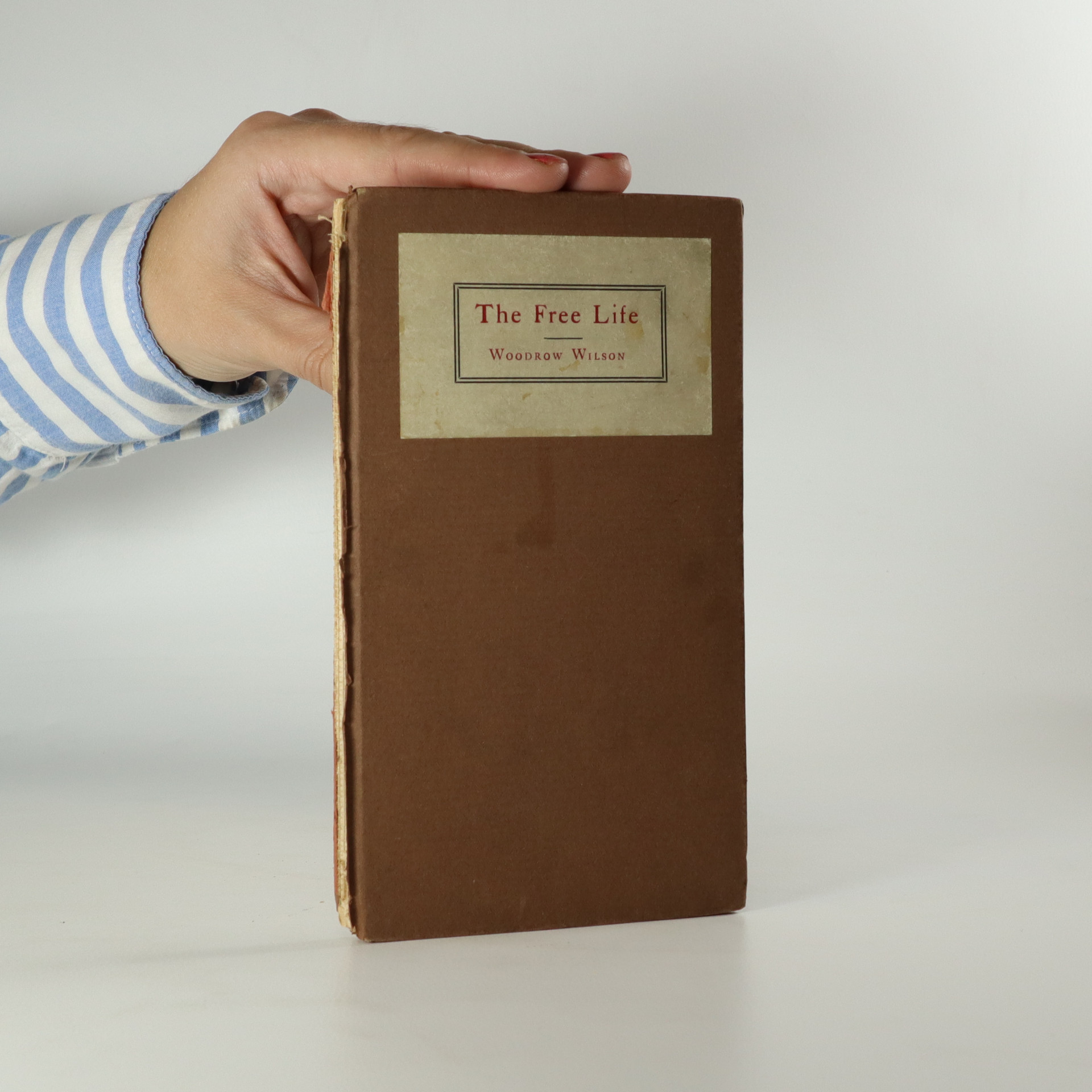 antikvární kniha The Free Life, neuveden