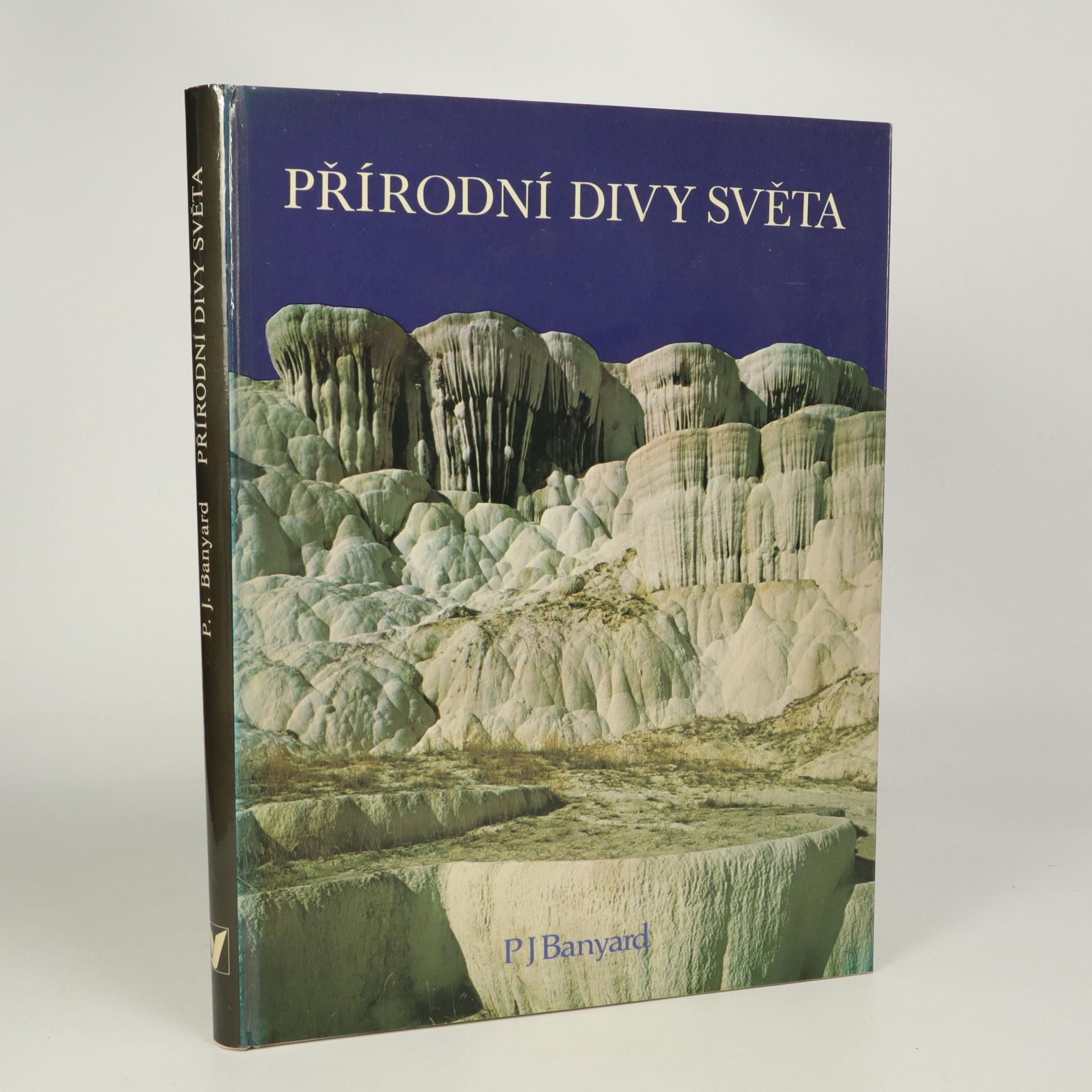 antikvární kniha Přírodní divy světa, 1982