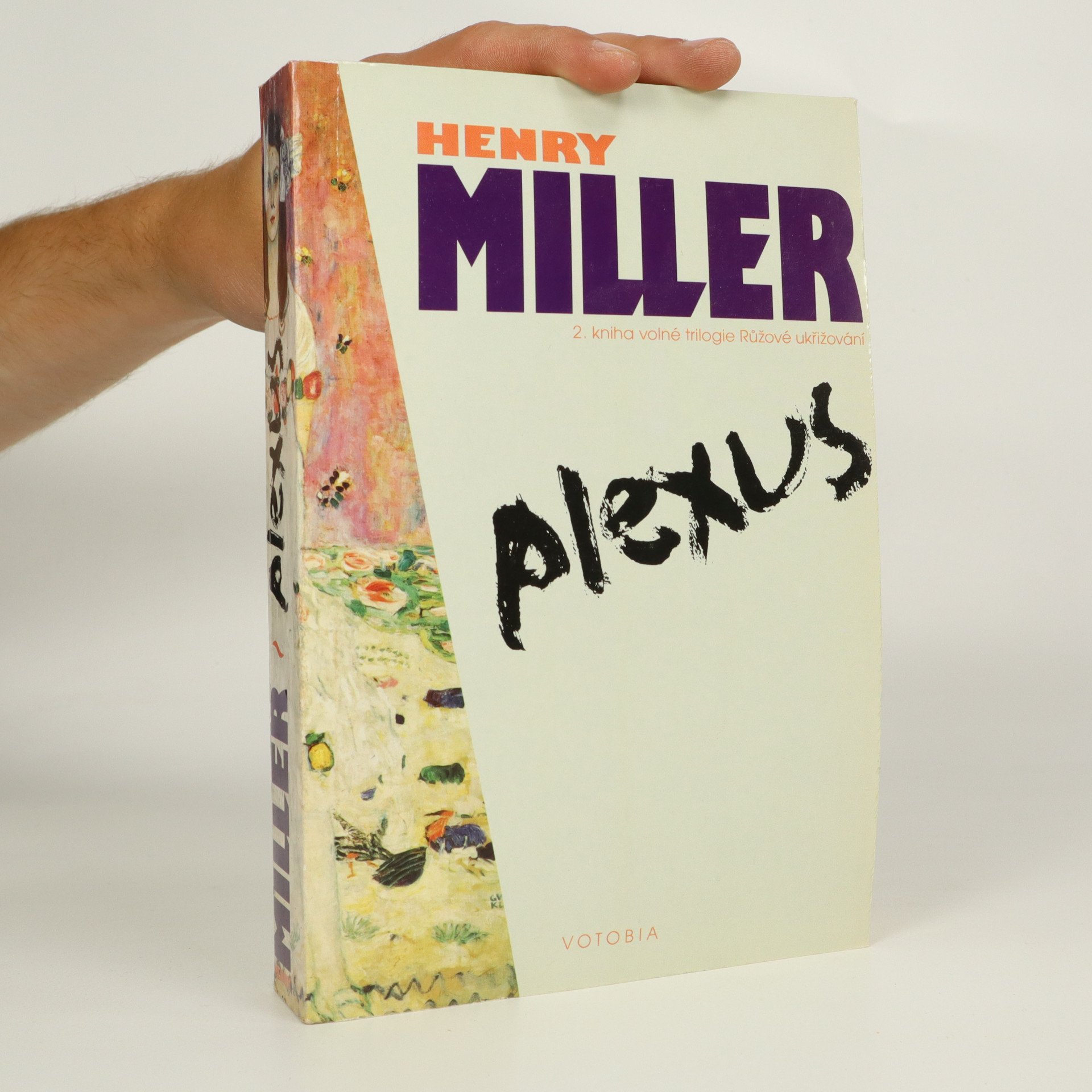 antikvární kniha Plexus (kniha je cítit kouřem), 1995