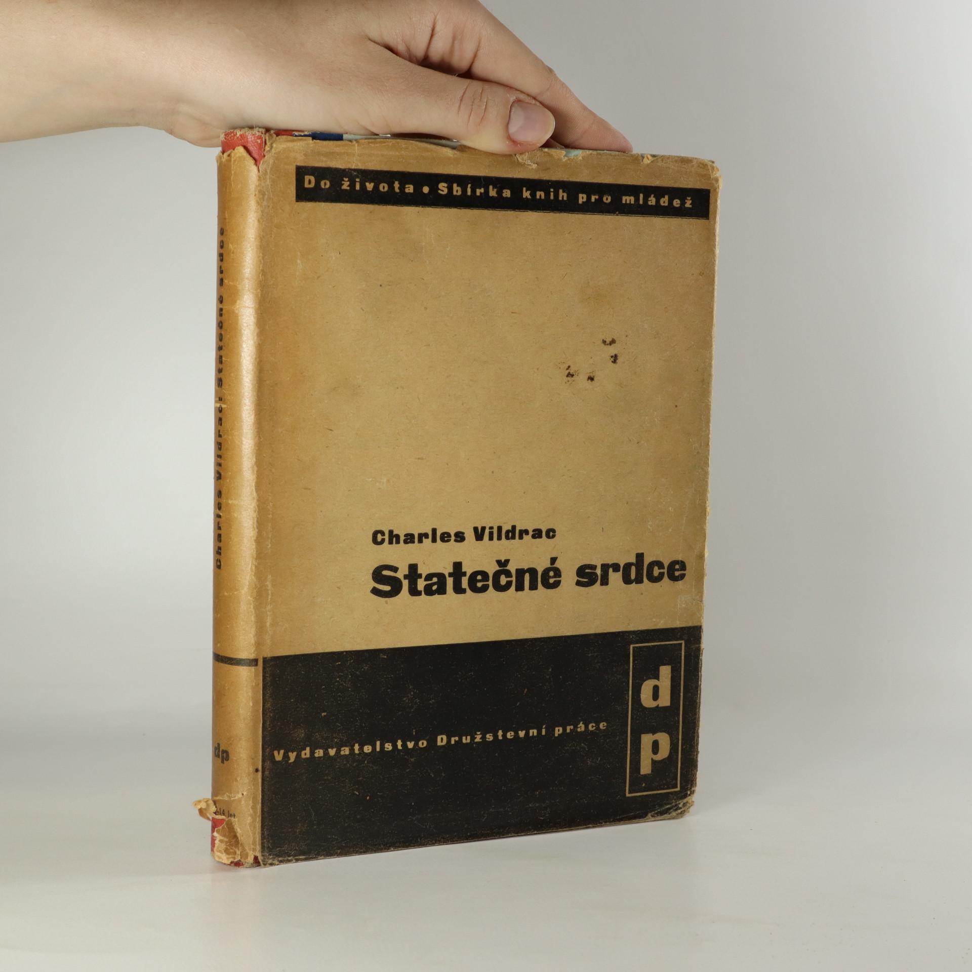 antikvární kniha Statečné srdce, 1938