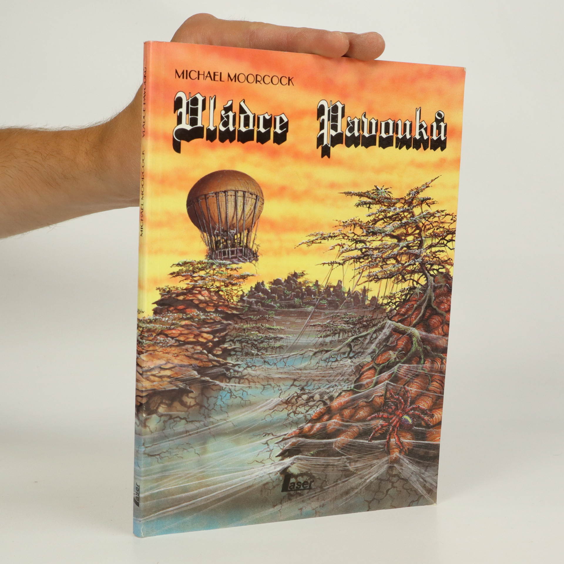 antikvární kniha Vládce pavouků (kniha je cítit kouřem), 1992