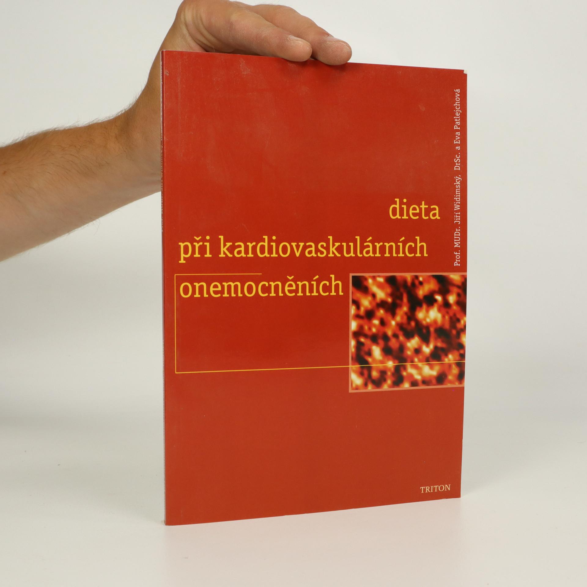 antikvární kniha Dieta při kardiovaskulárních onemocněních (kniha je cítit kouřem), 1999