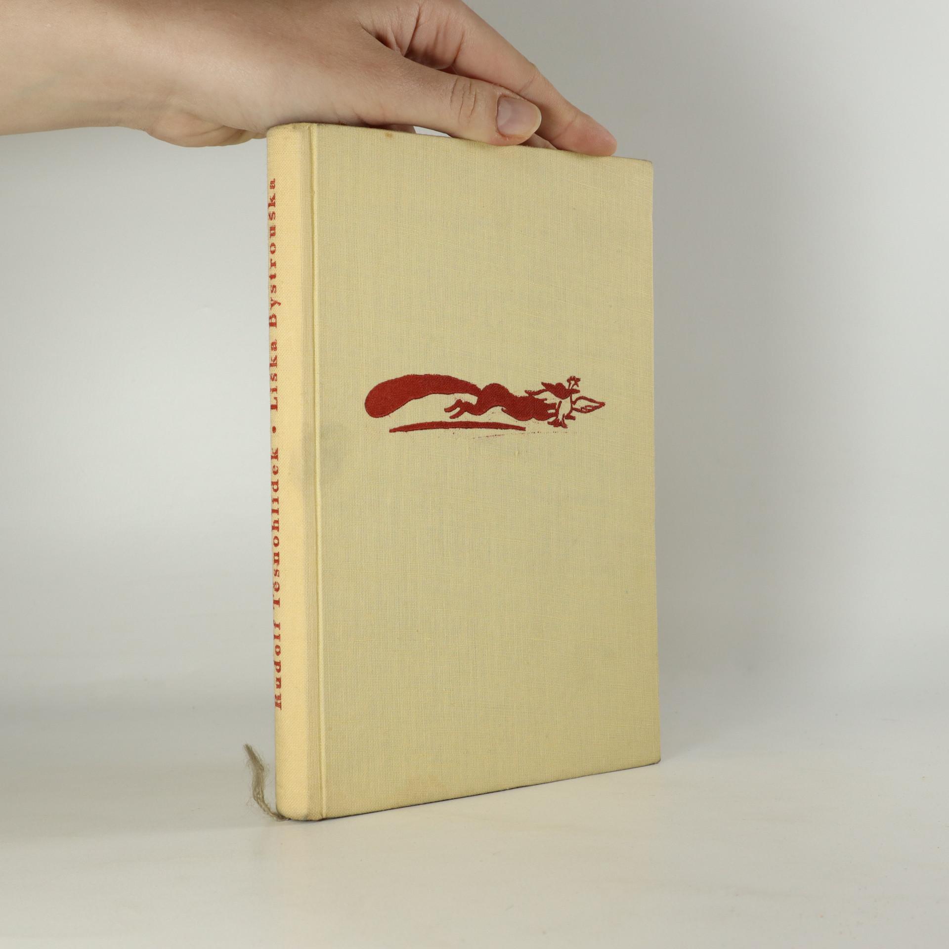 antikvární kniha Liška Bystrouška, 1954