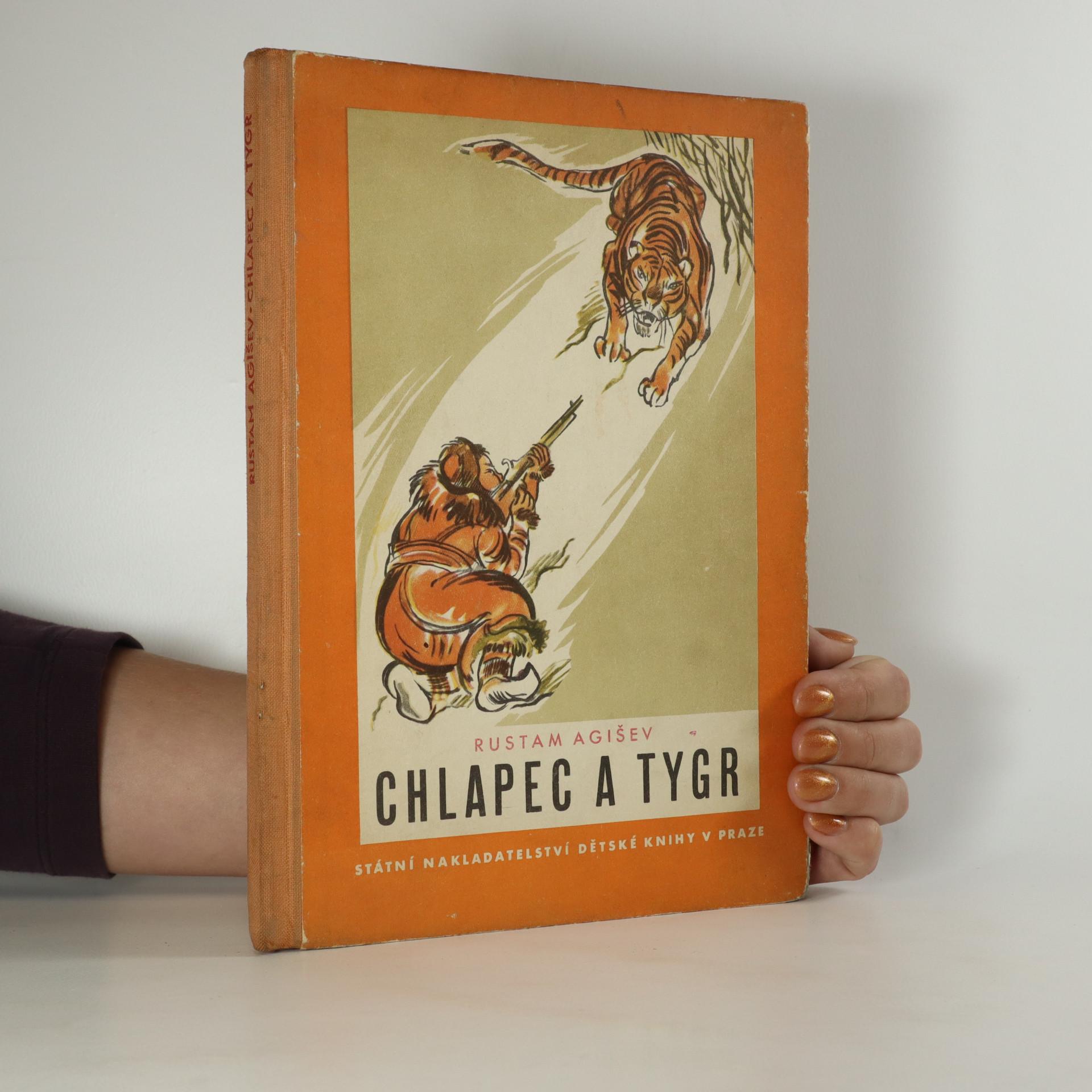 antikvární kniha Chlapec a tygr, 1950