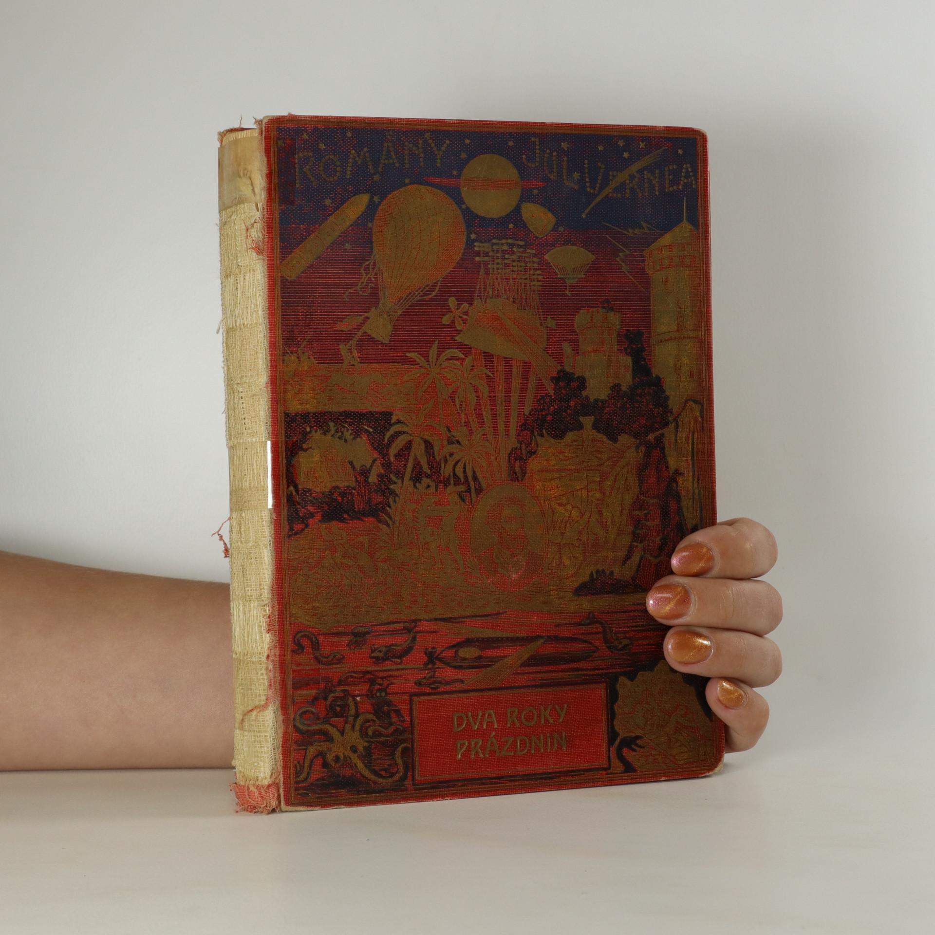 antikvární kniha Dva roky prázdnin, 1932