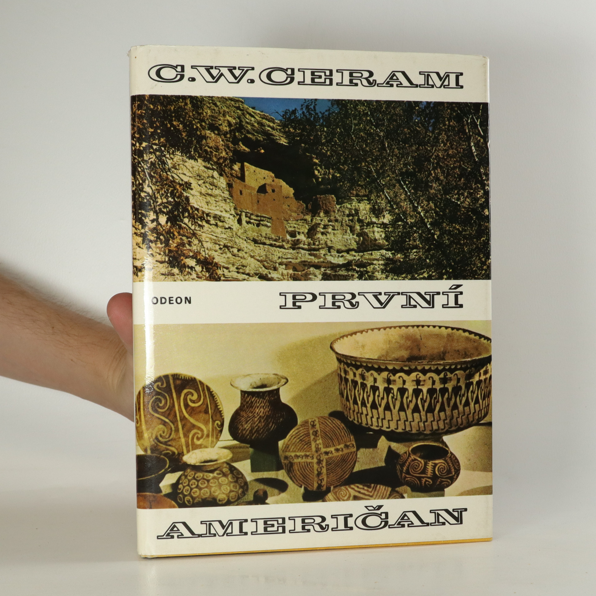 antikvární kniha První Američan : tajemství předkolumbovských Indiánů, 1977