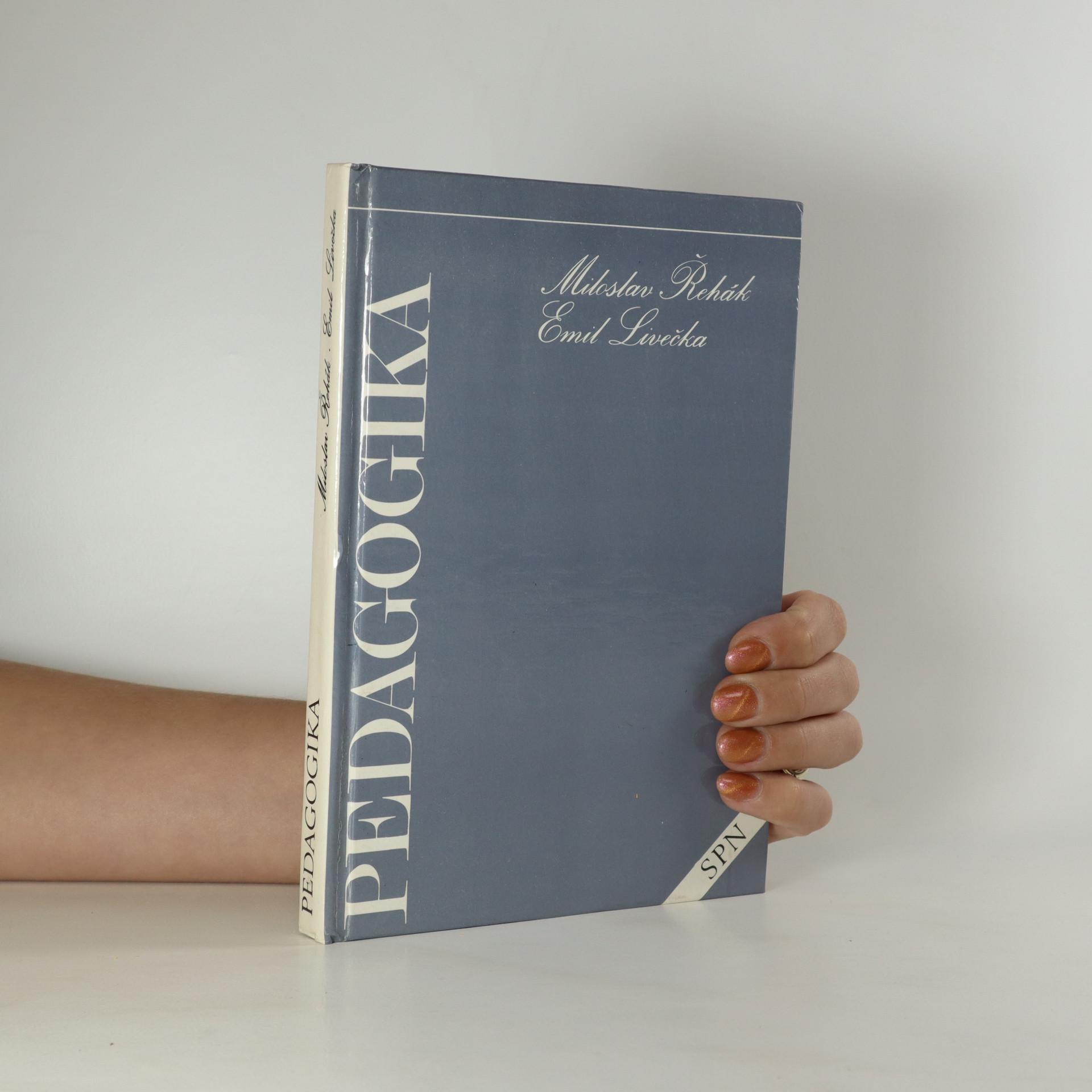 antikvární kniha Pedagogika pro 2. ročník středních škol sociálně právních, 1980