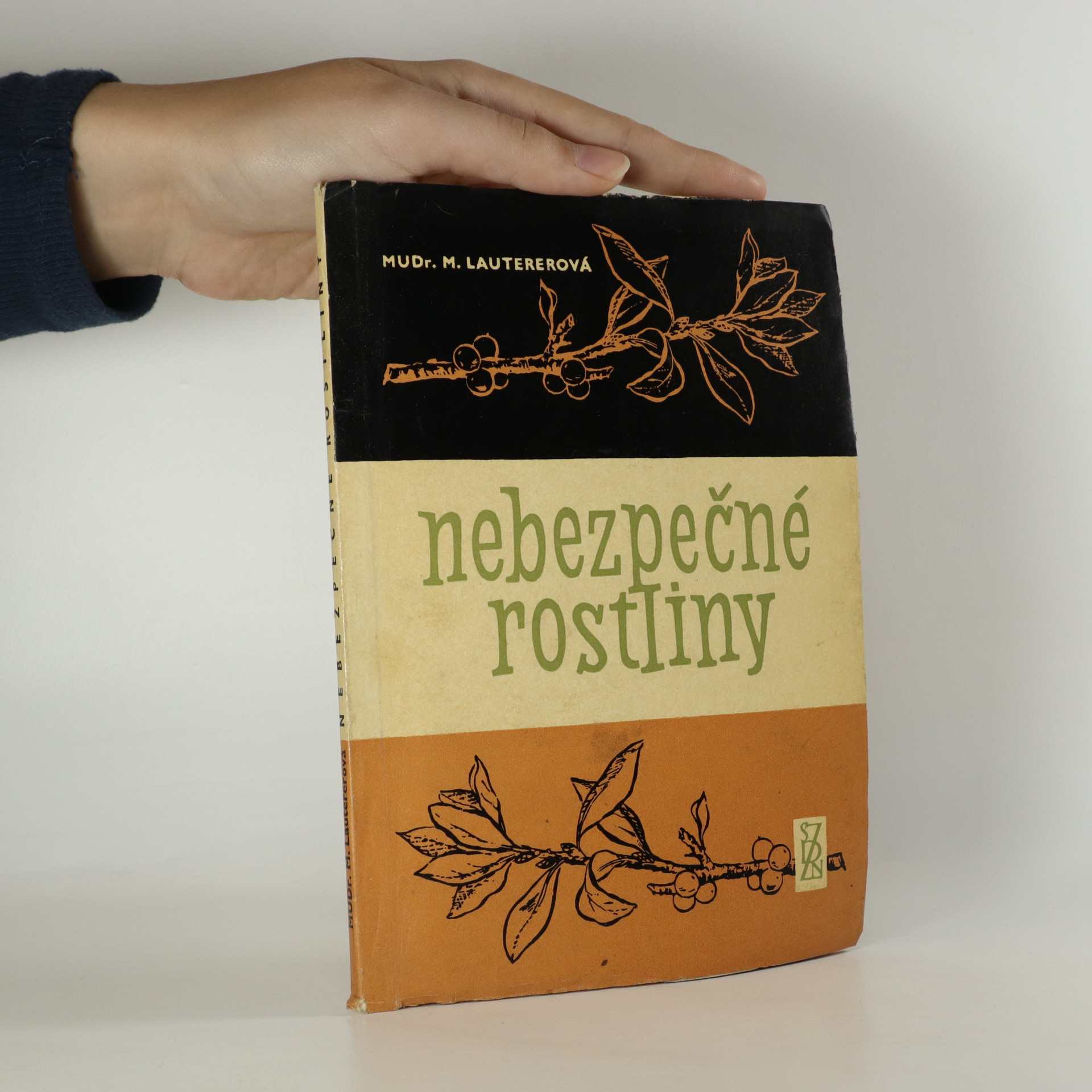 antikvární kniha Nebezpečné rostliny, 1962
