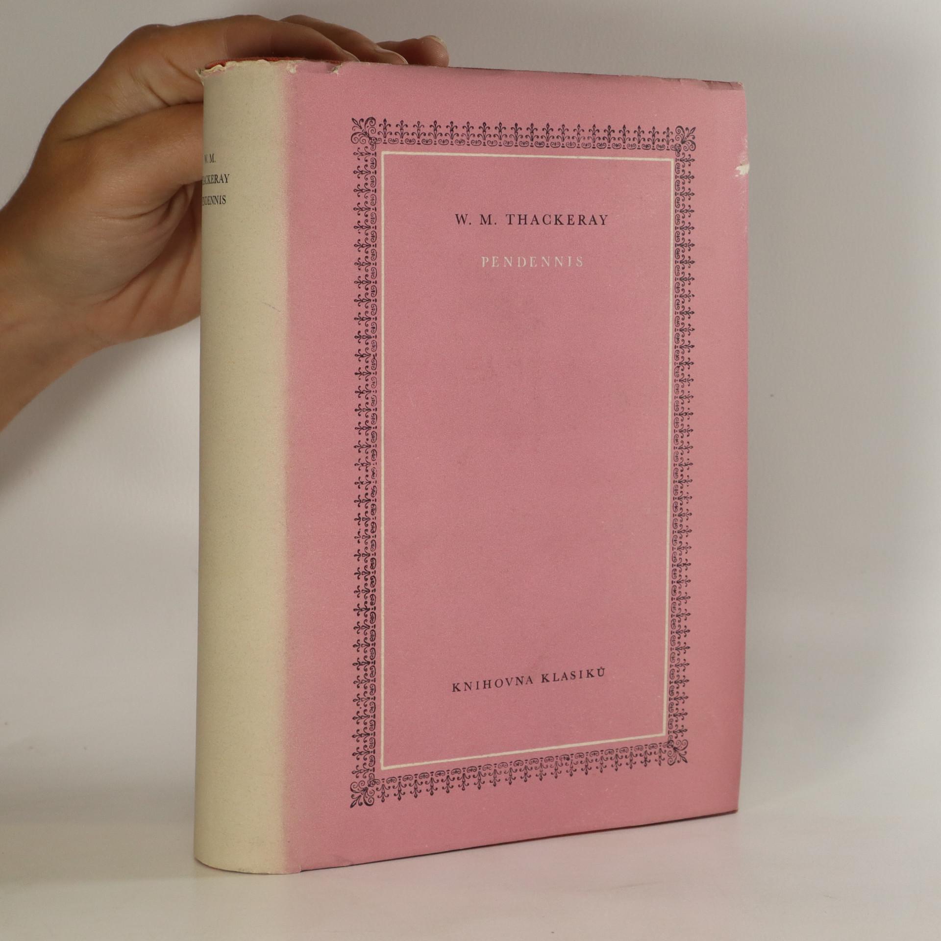 antikvární kniha Pendennis , 1960