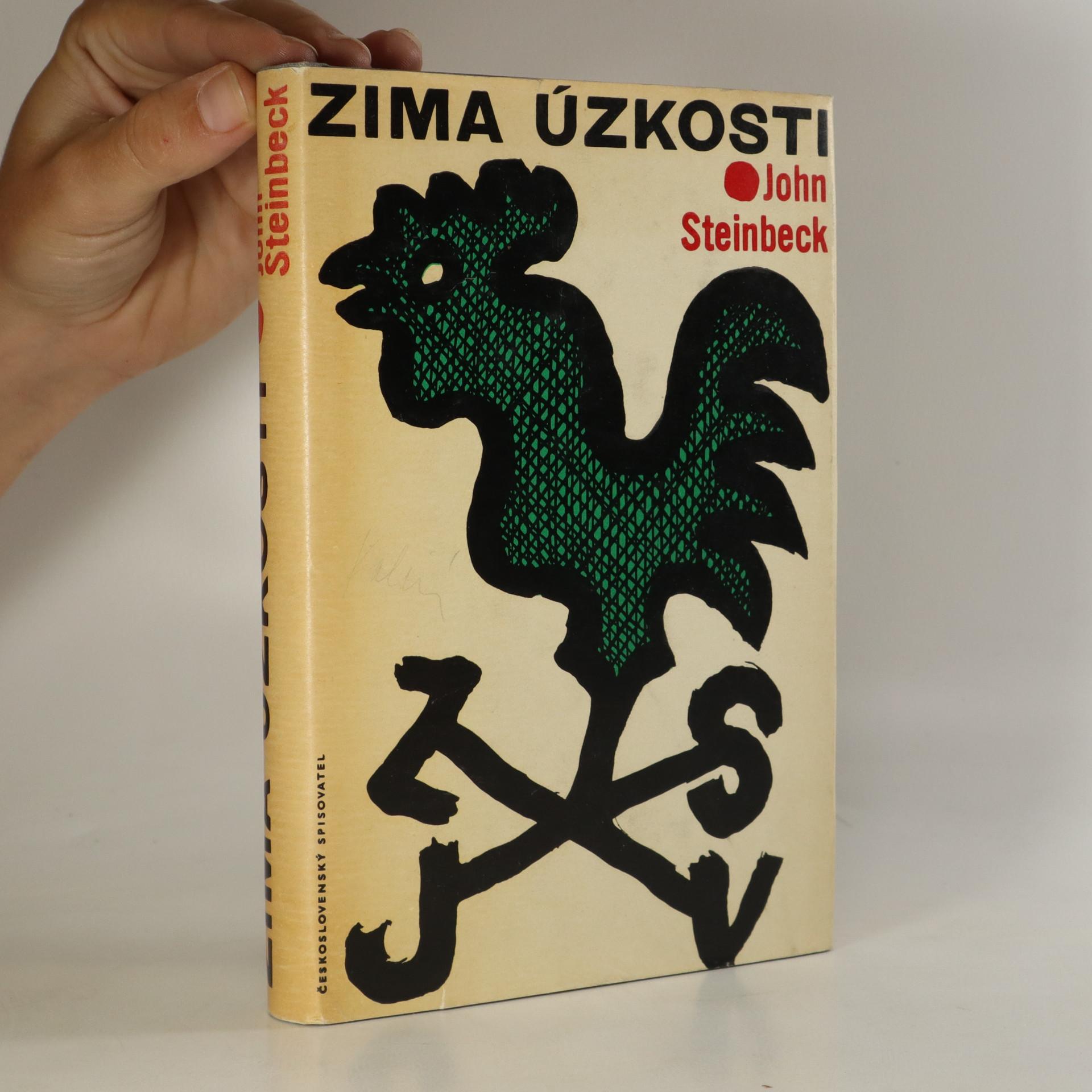 antikvární kniha Zima úzkosti, 1965