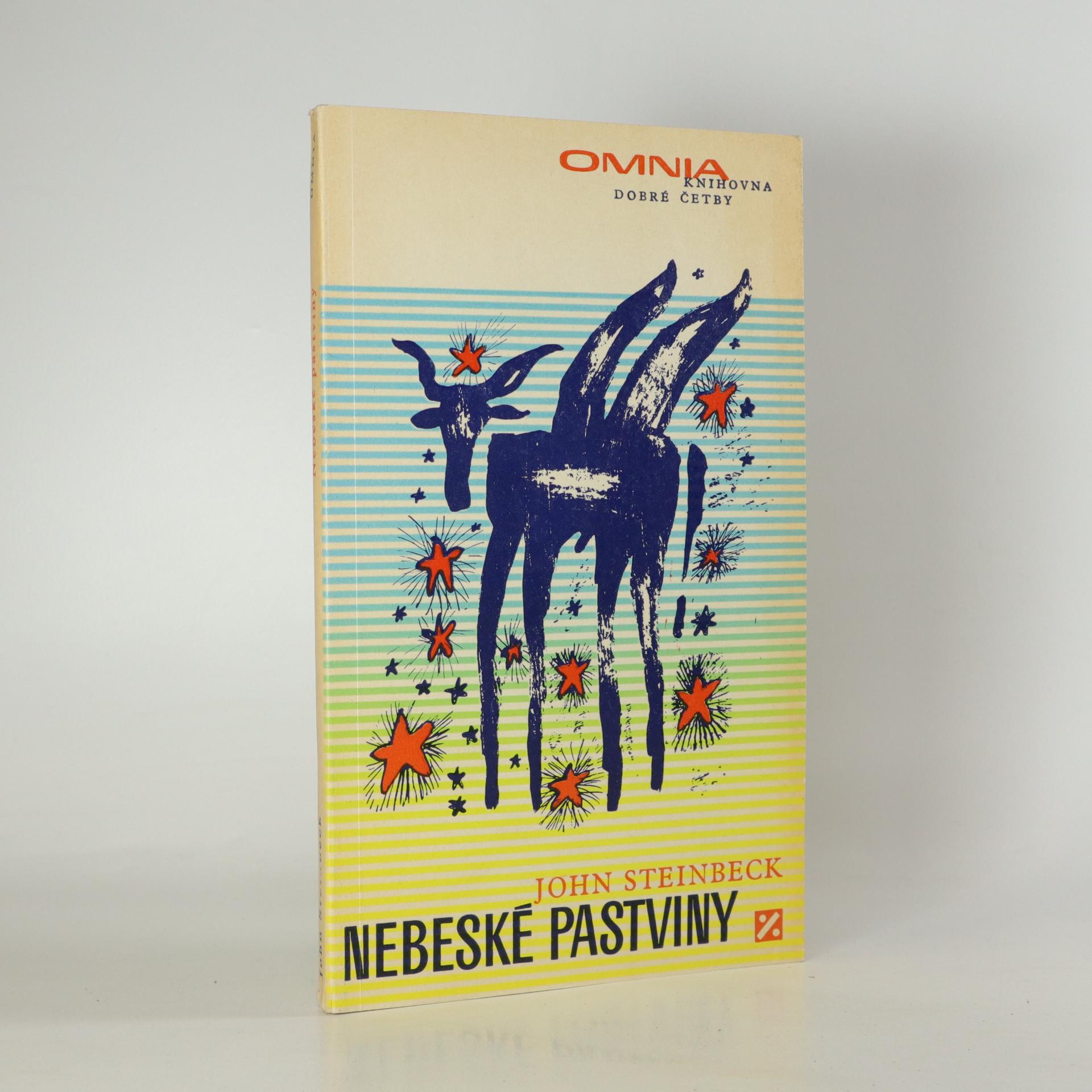 antikvární kniha Nebeské pastviny, 1969