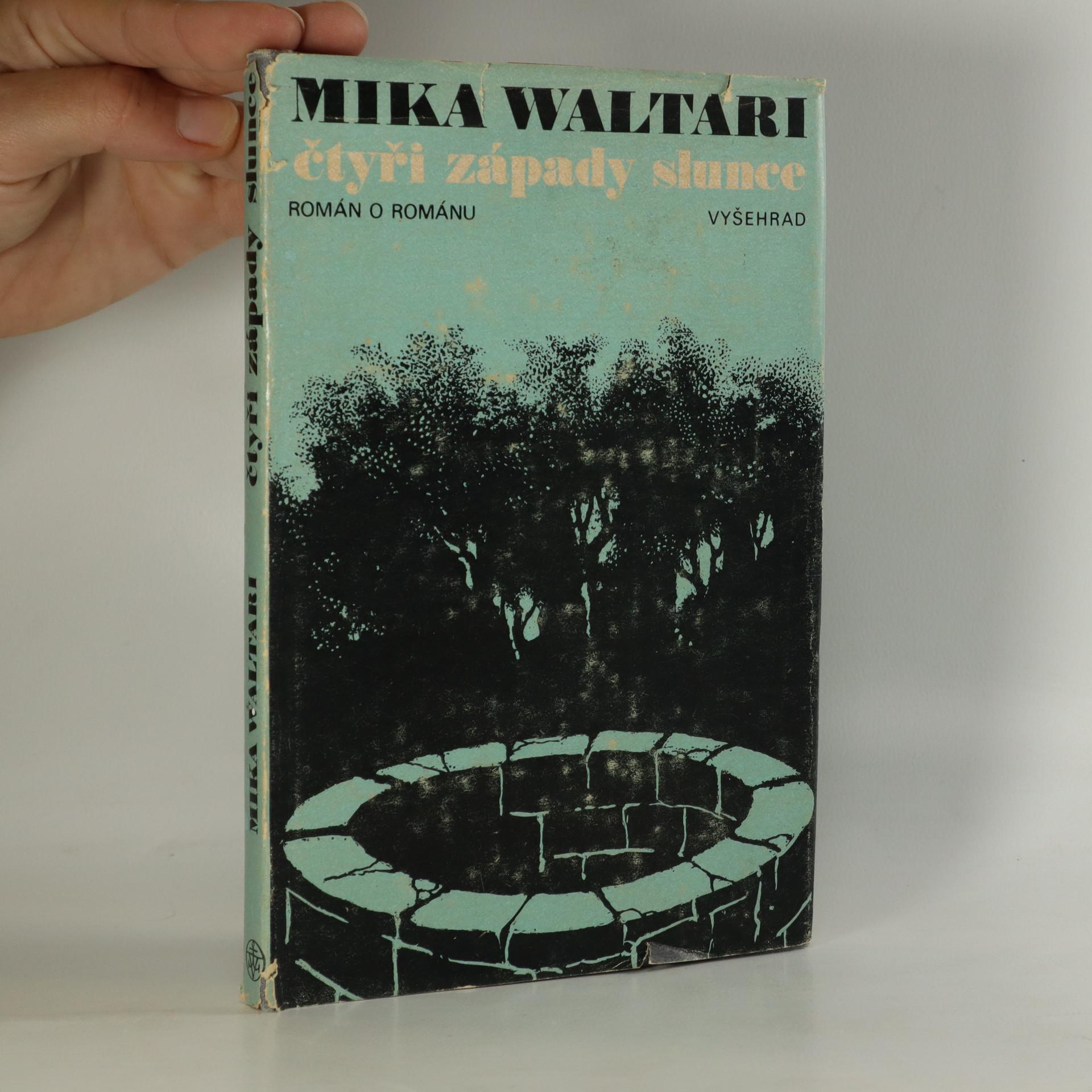 antikvární kniha Čtyři západy slunce , 1976