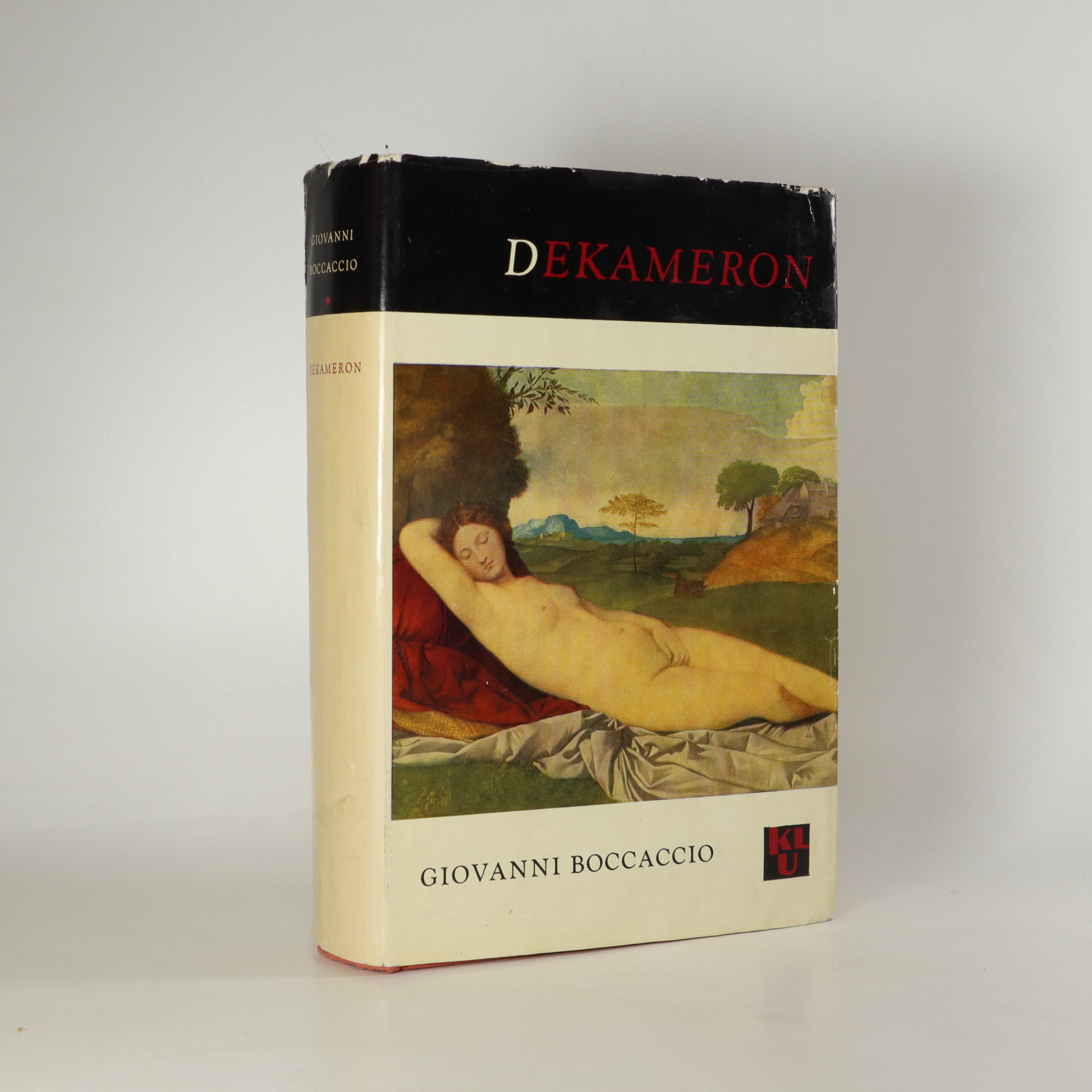 antikvární kniha Dekameron, 1965