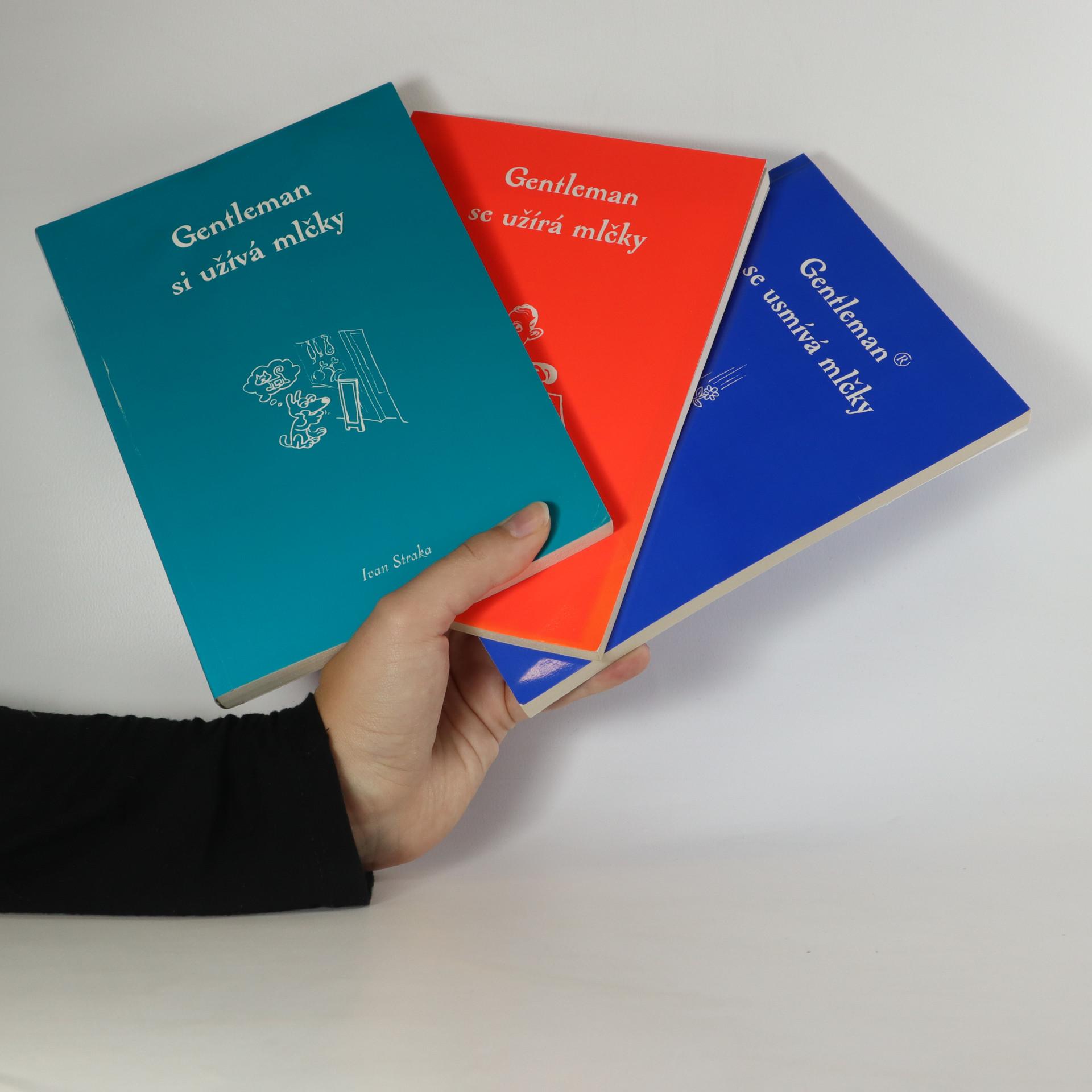 antikvární kniha Gentleman 3x (viz. foto), 1996-1998