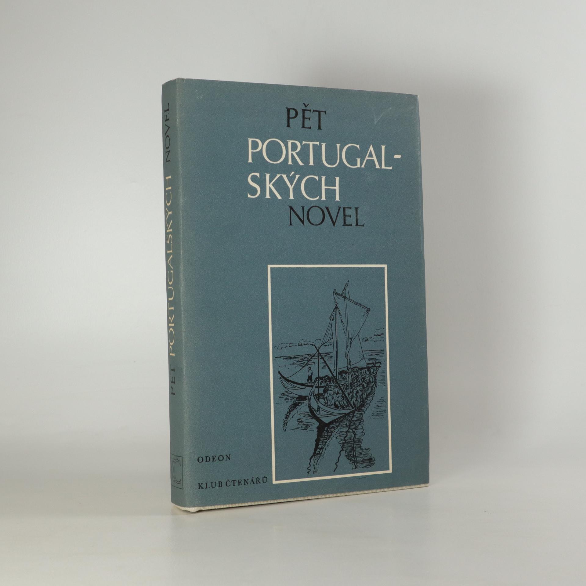 antikvární kniha Pět portugalských novel, 1987