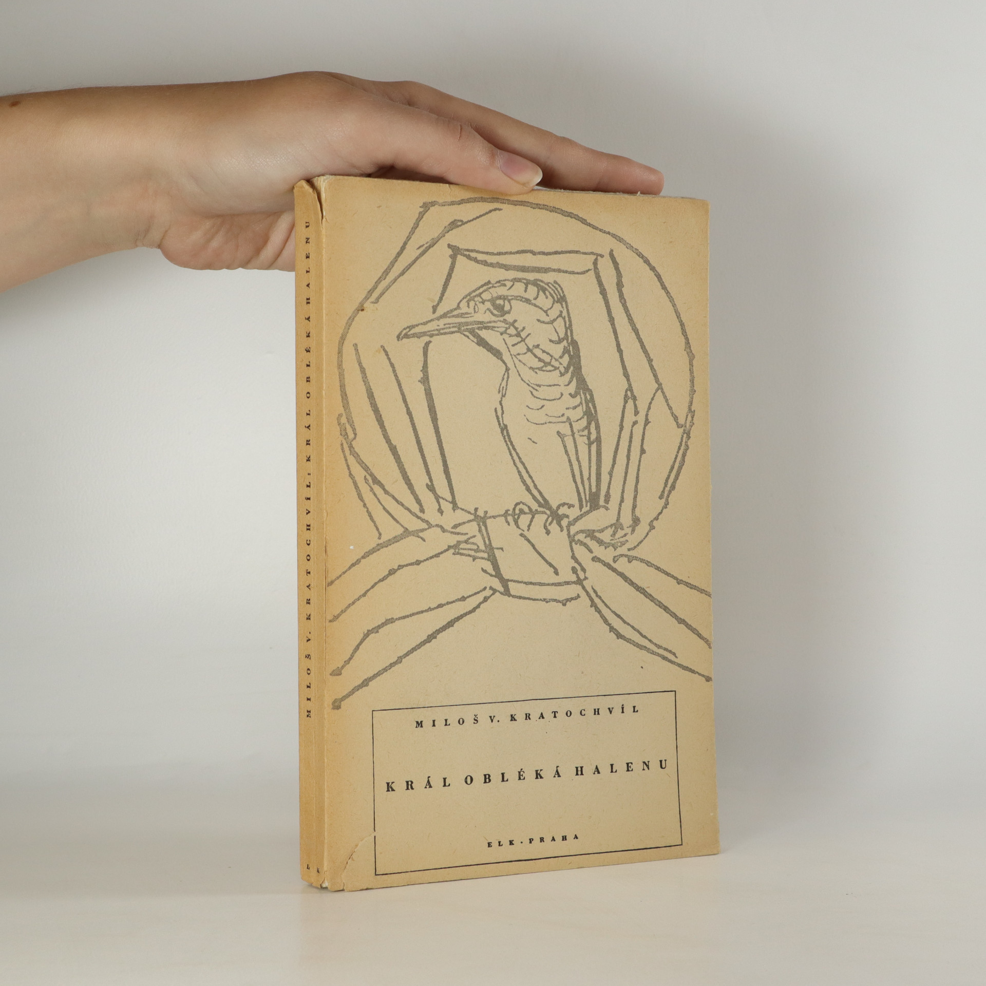 antikvární kniha Král obléká halenu, 1945
