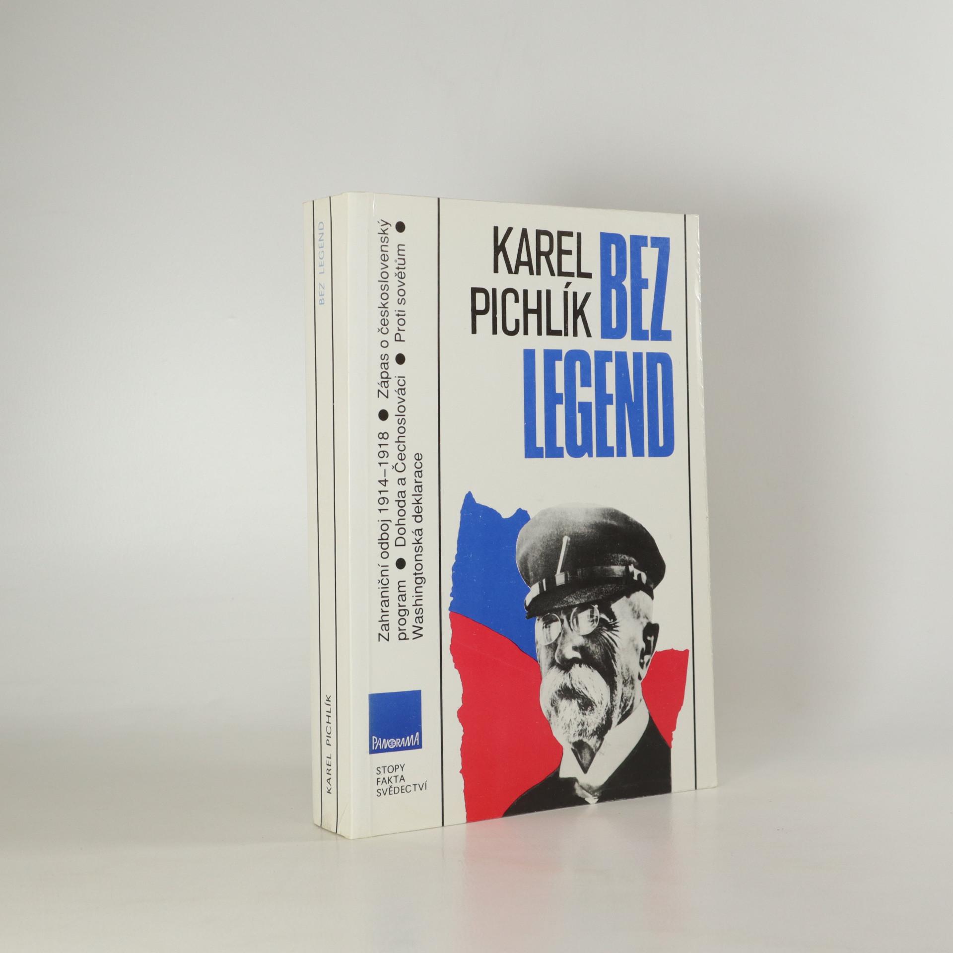 antikvární kniha Bez legend. Zápas o československý program, 1991