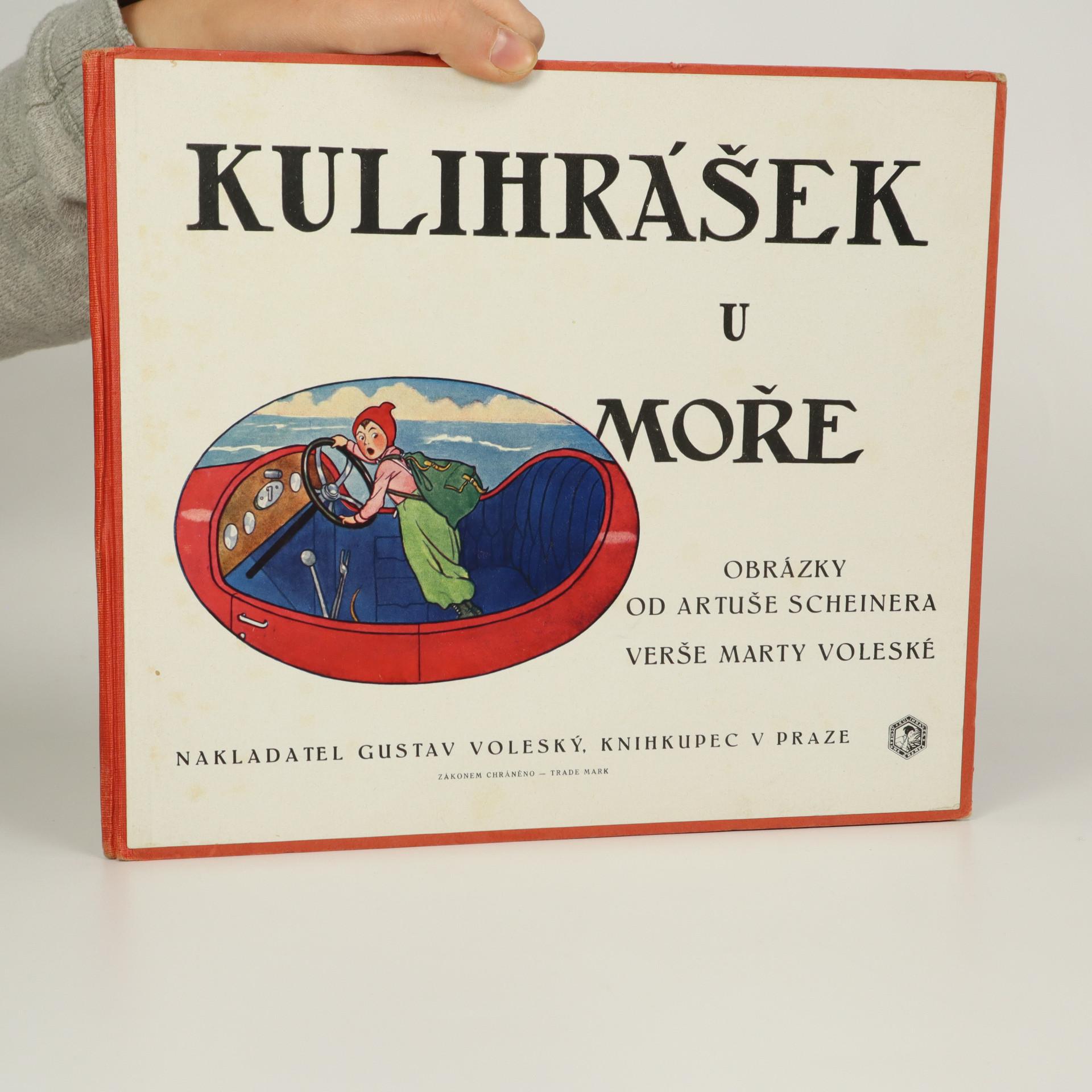 antikvární kniha Kulihrášek u moře, neuveden