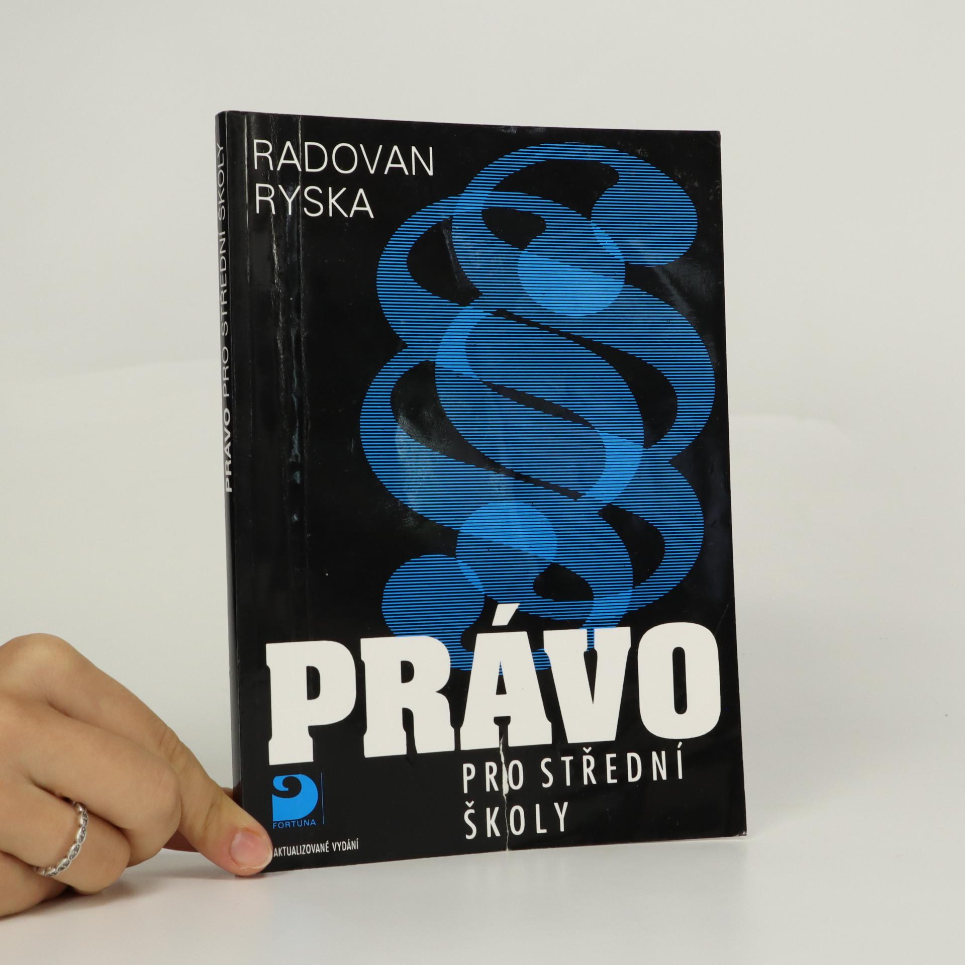 antikvární kniha Právo pro střední školy, 2010