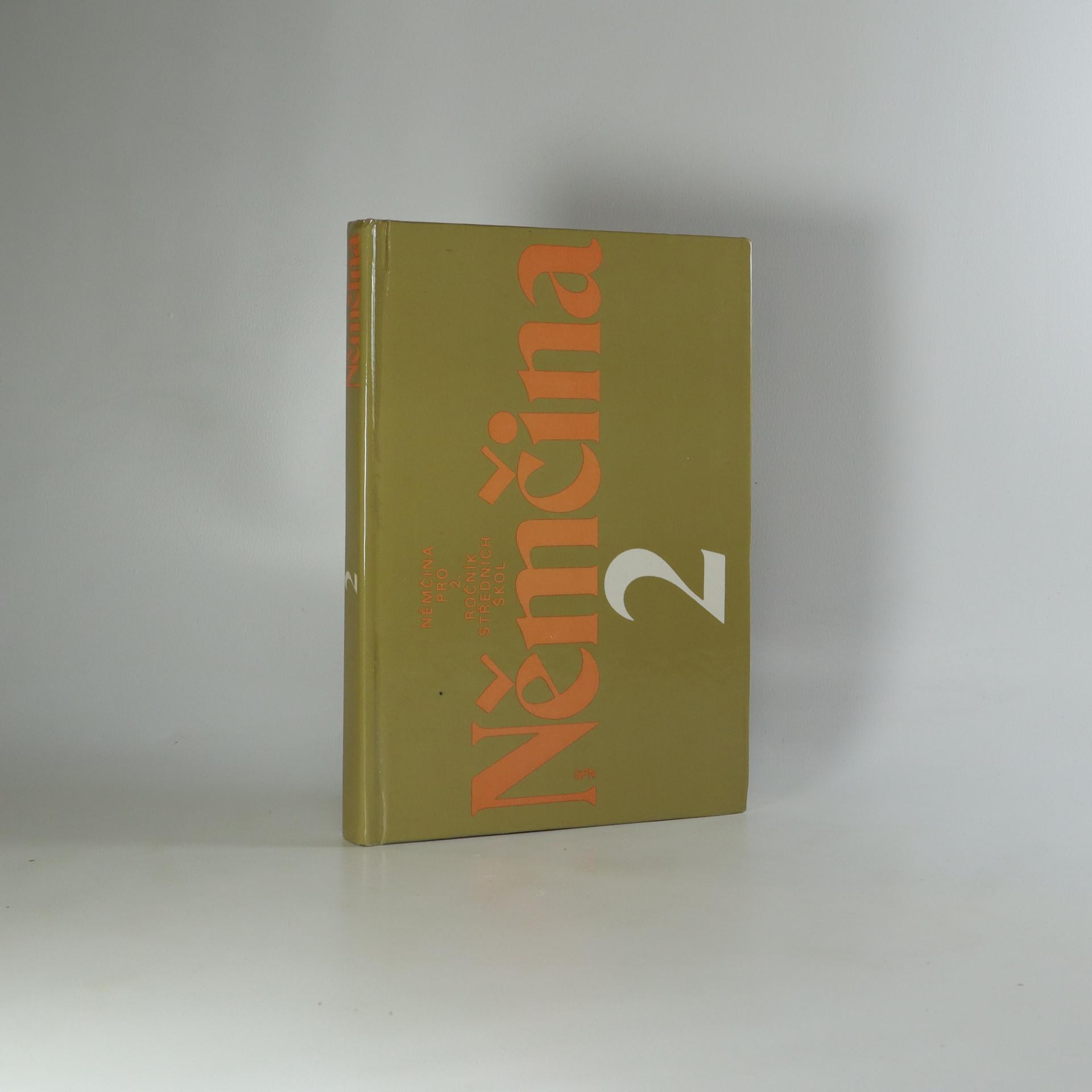 antikvární kniha Němčina pro 2. ročník středních škol, 1989