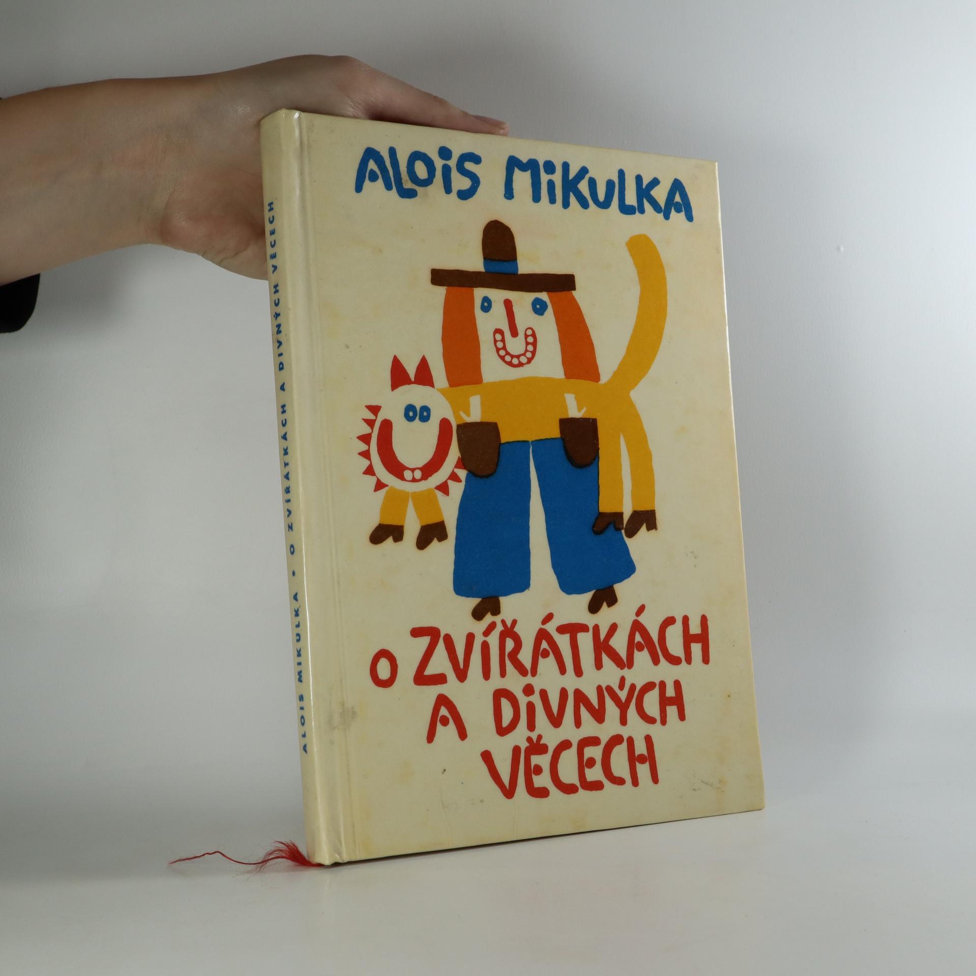 antikvární kniha O zvířátkách a divných věcech, 1965