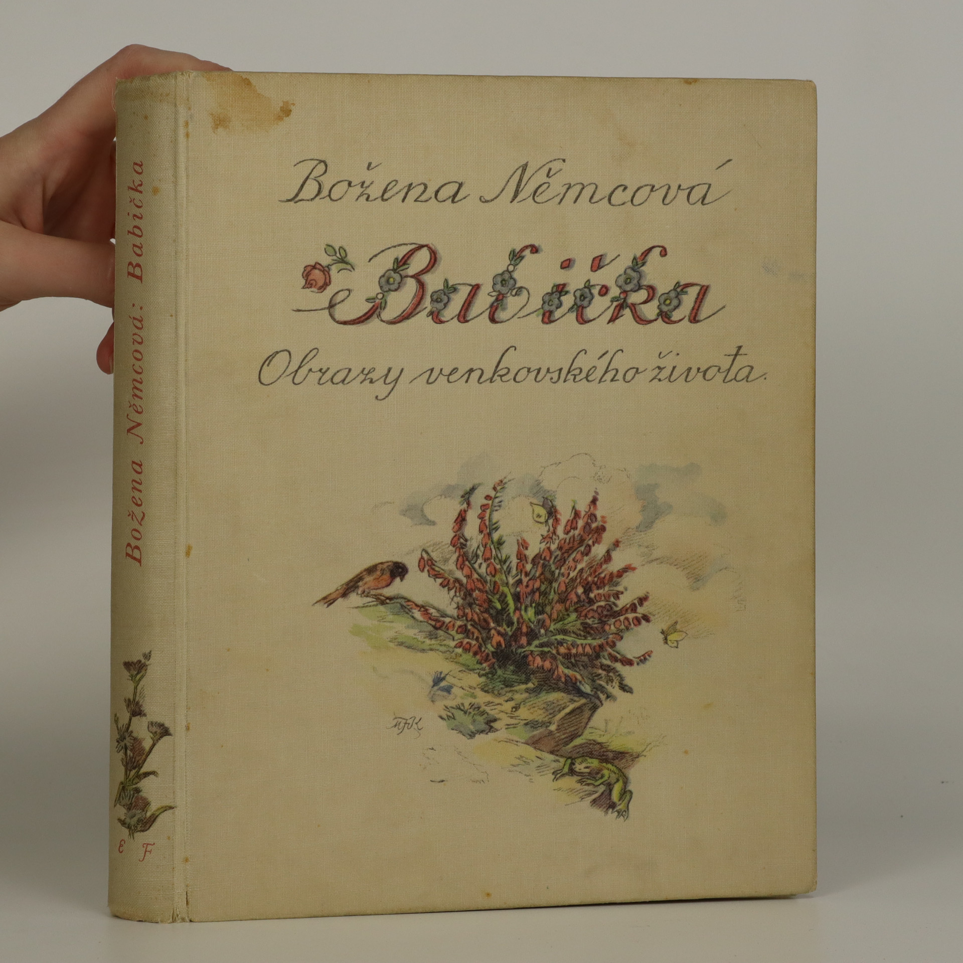 antikvární kniha Babička, 1940